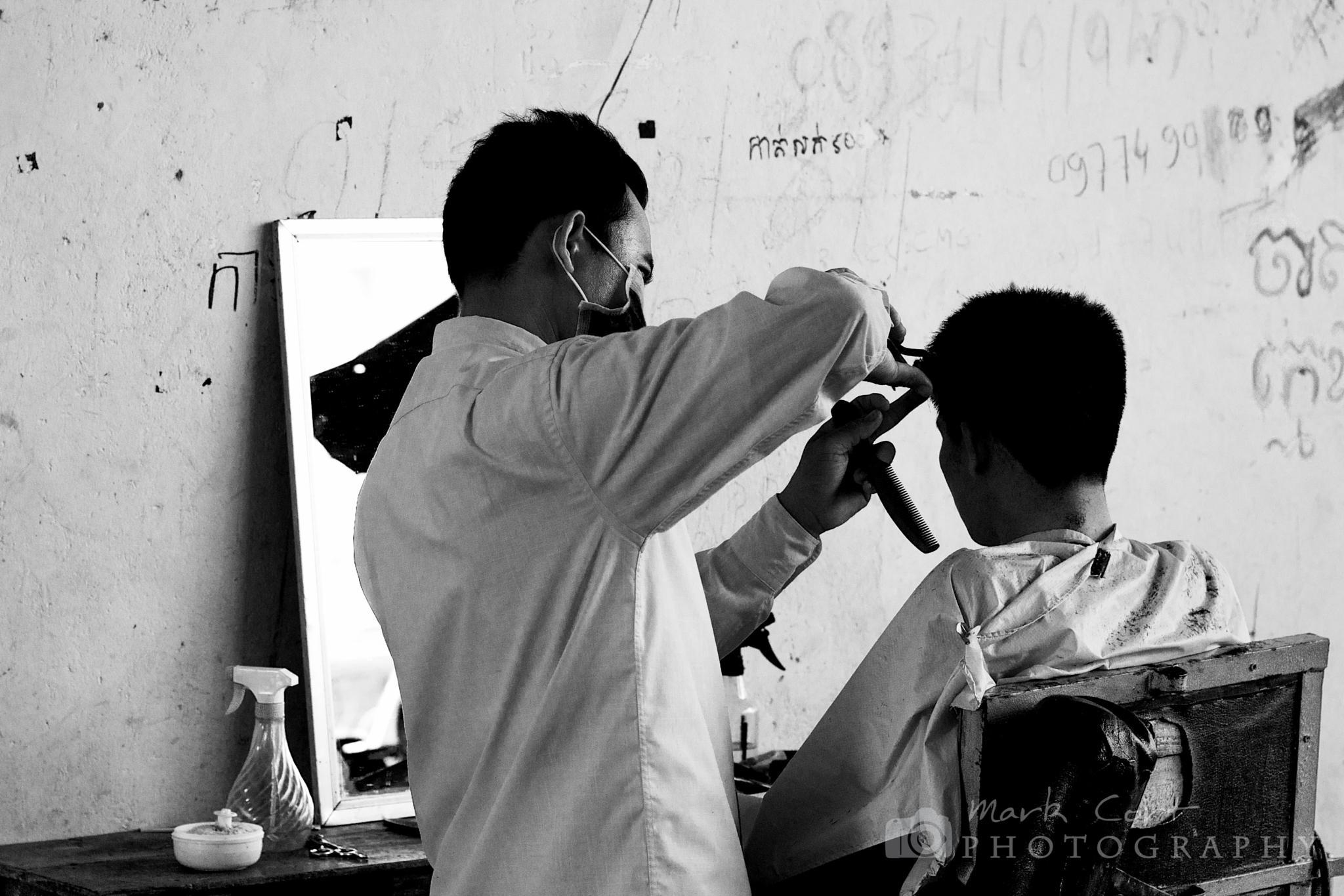 Haircut Sir? by Mark Cort