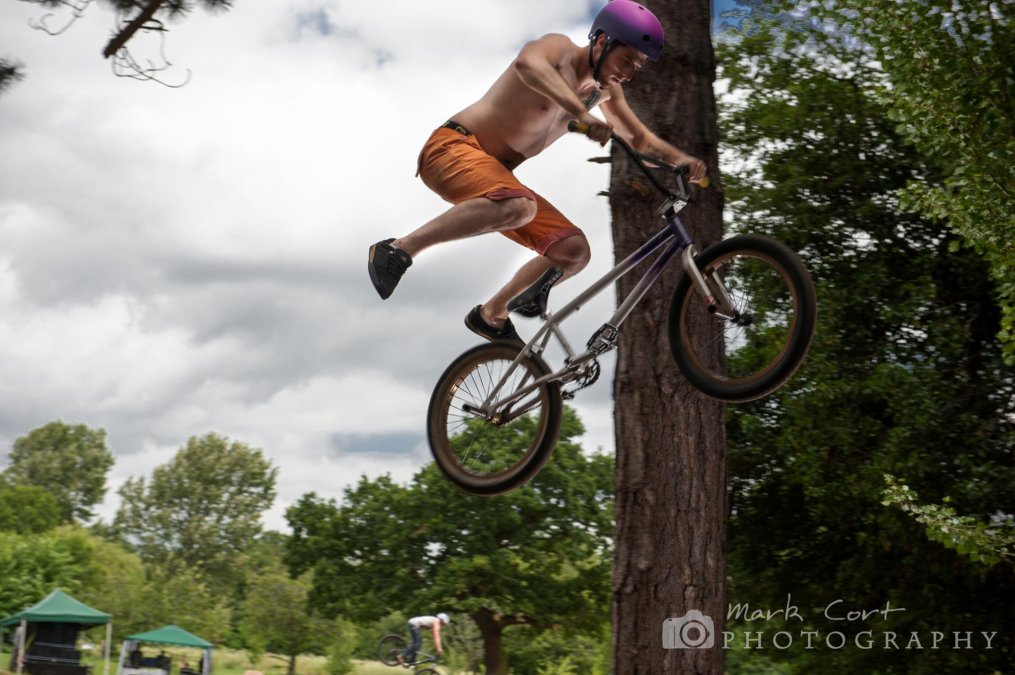 BMX Rider, Leicester by Mark Cort