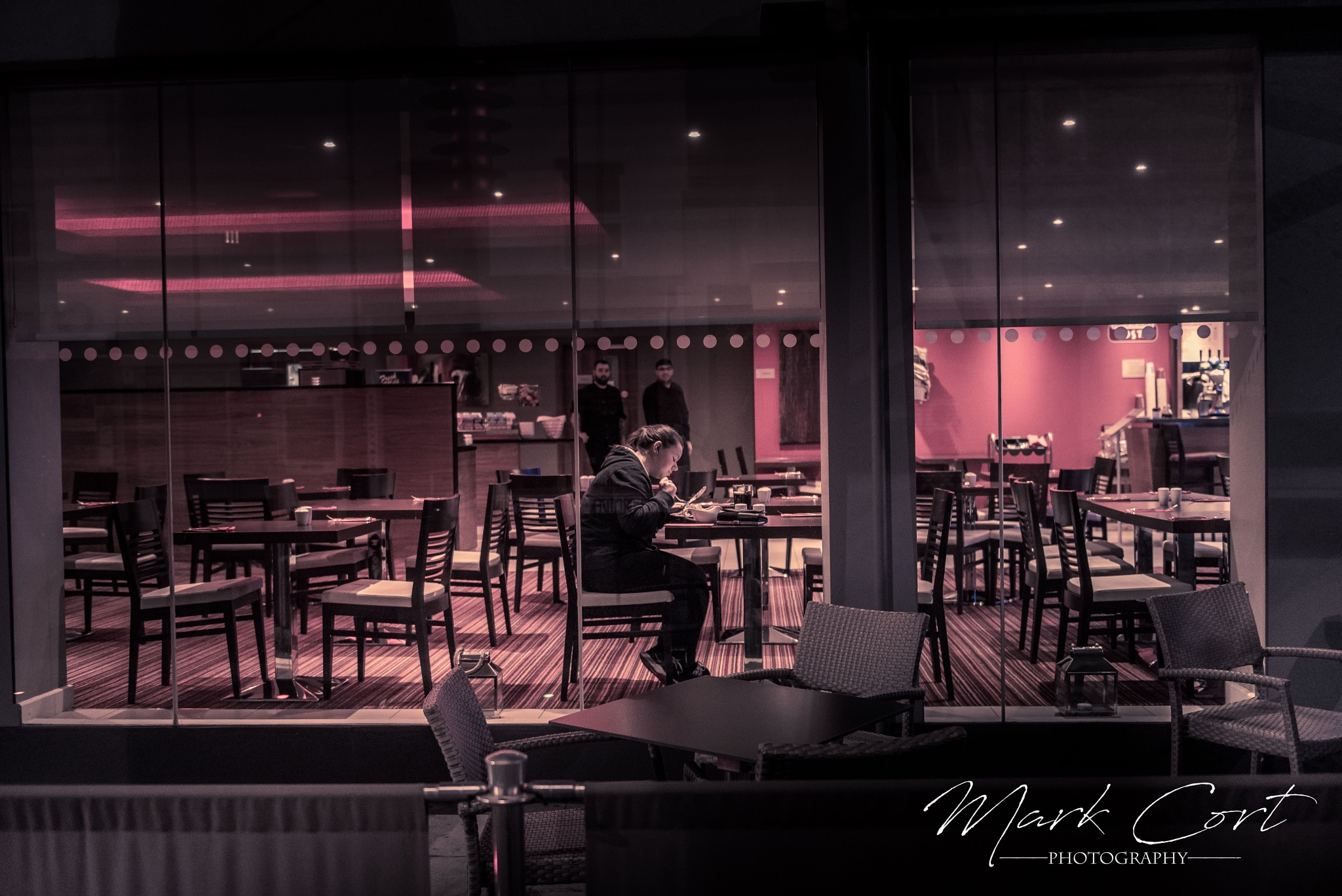 Alone I Eat by Mark Cort