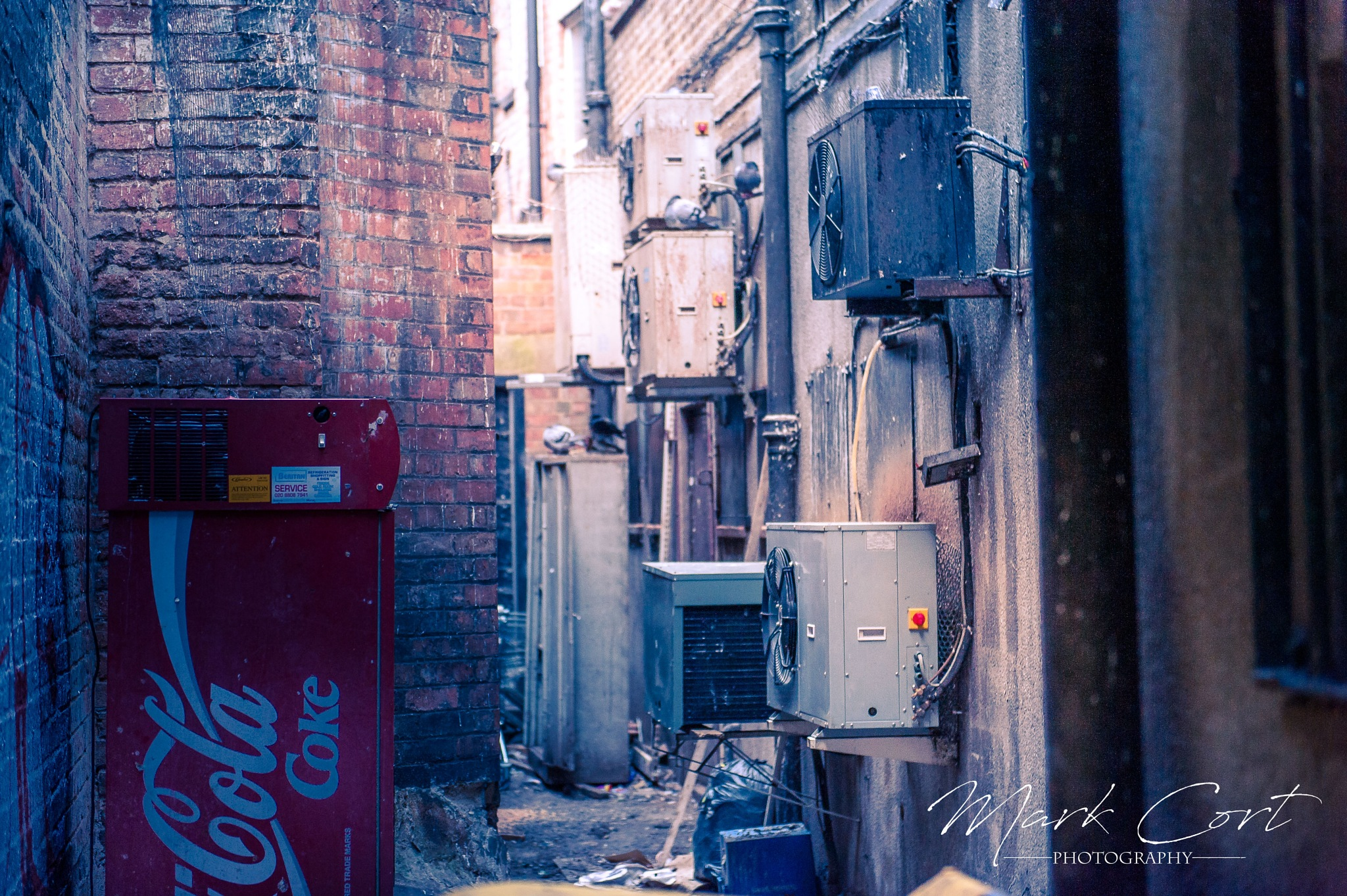 Leicester Alleyway II by Mark Cort