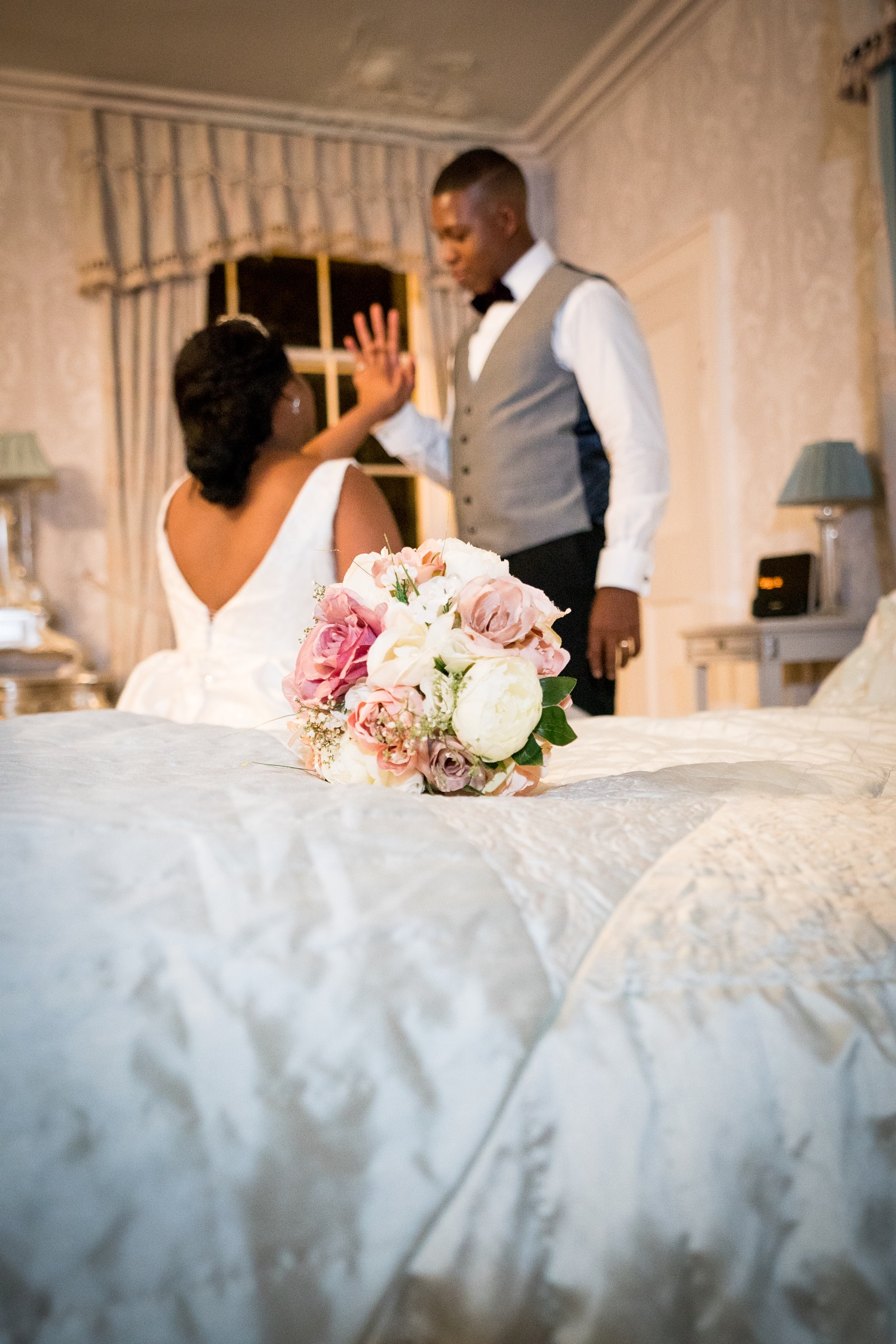 Prestwold Hall Wedding, Leicestershire by Mark Cort