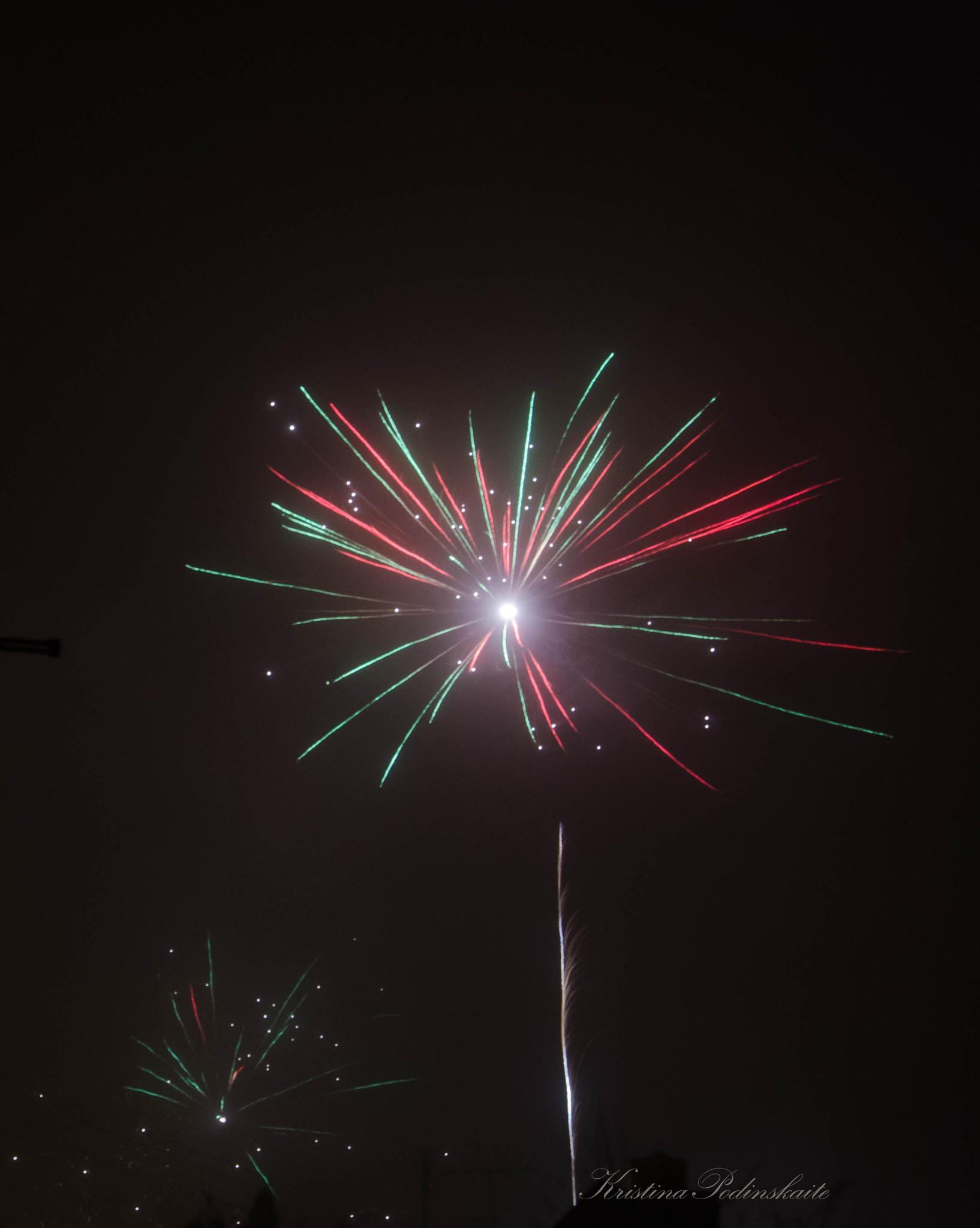 Fireworks by Kristina
