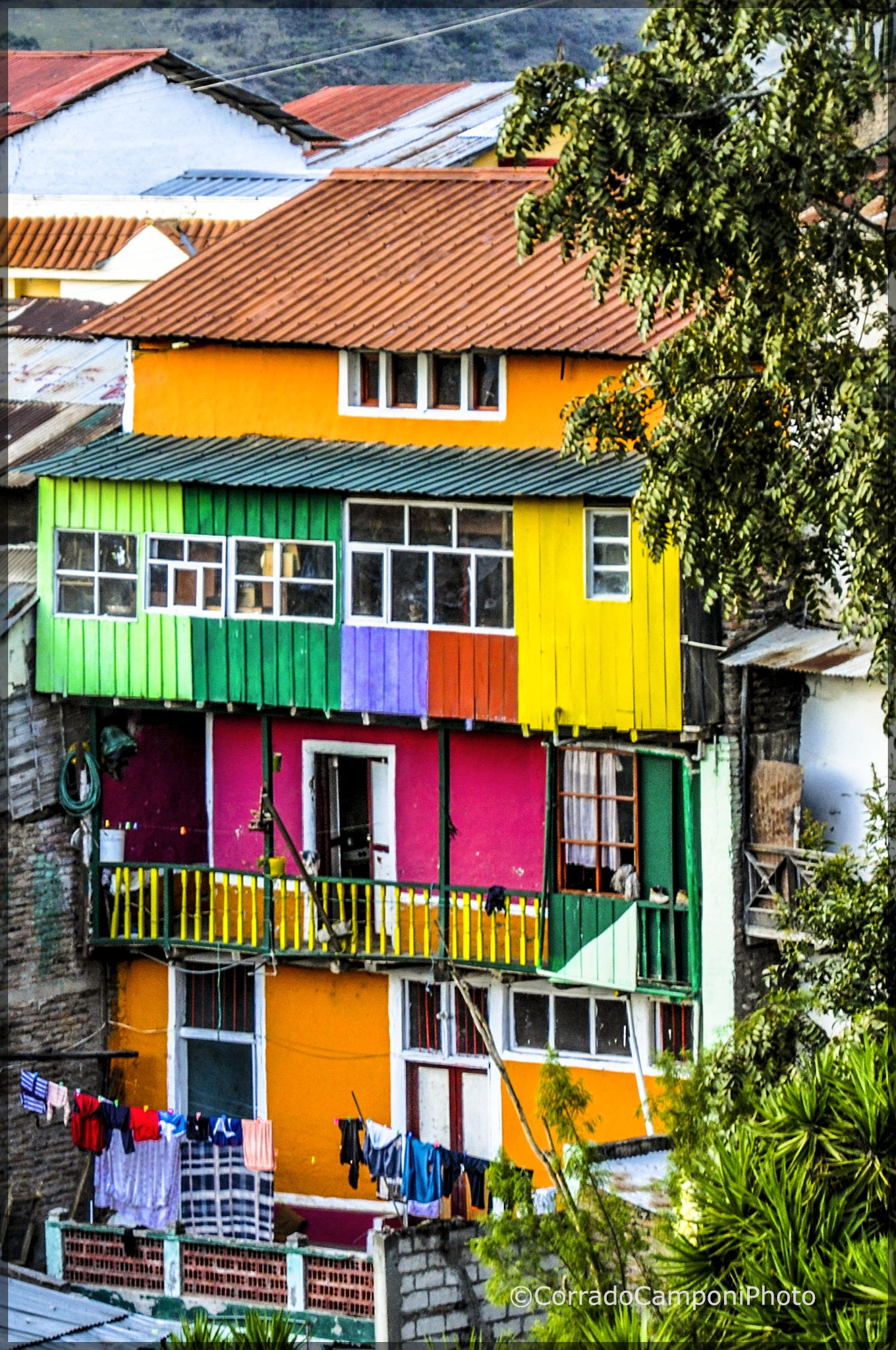 The house of thousand colors by corradocamponiphoto