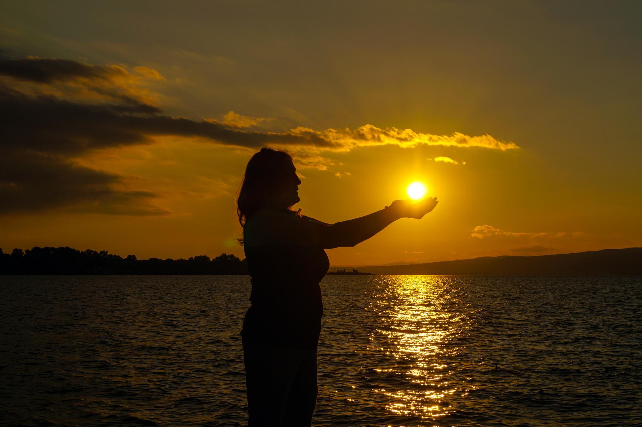 Sunset at sapanca Lake by kavas