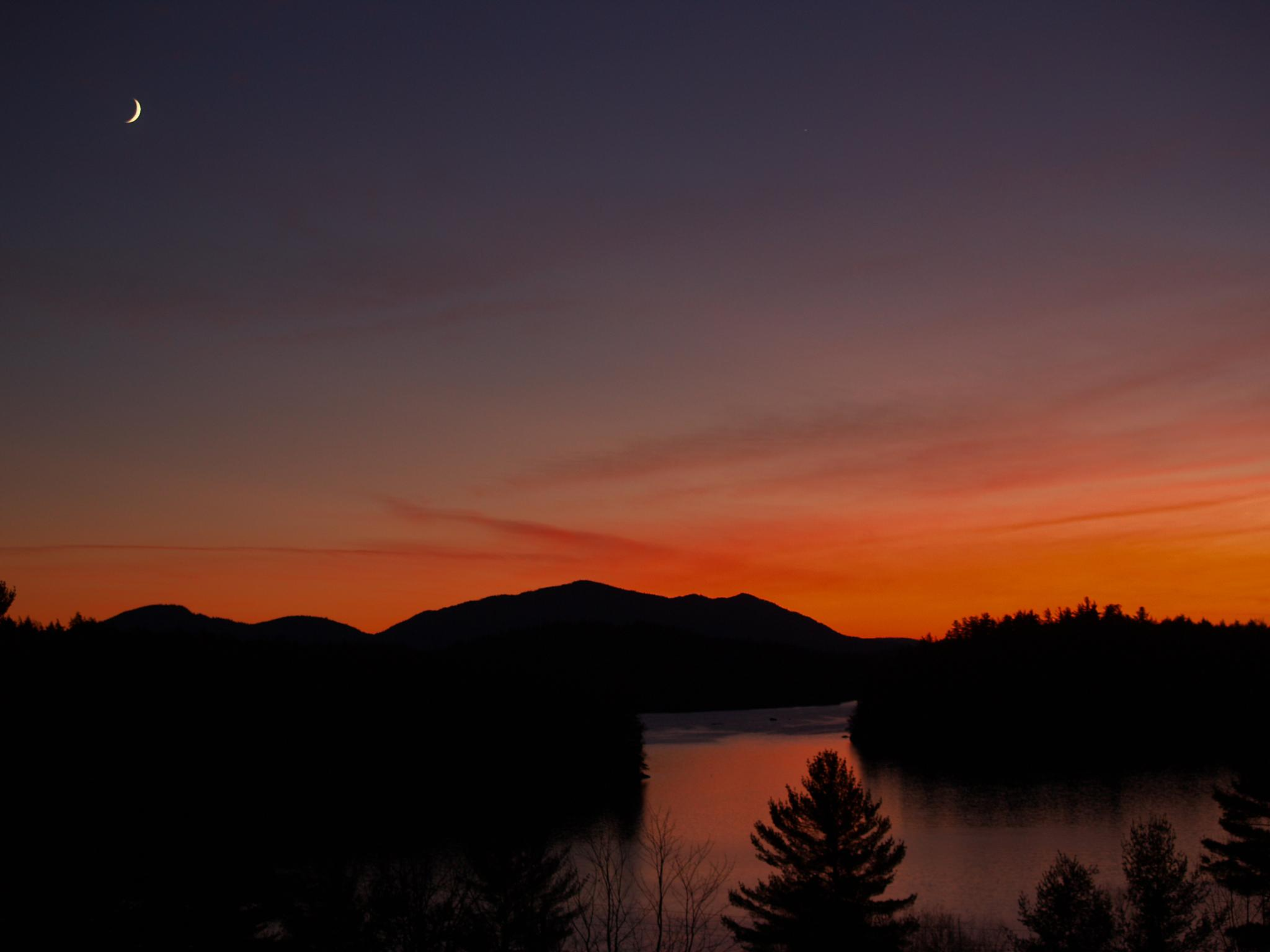 Lower Saranac sunset by ADKPhotoTaker