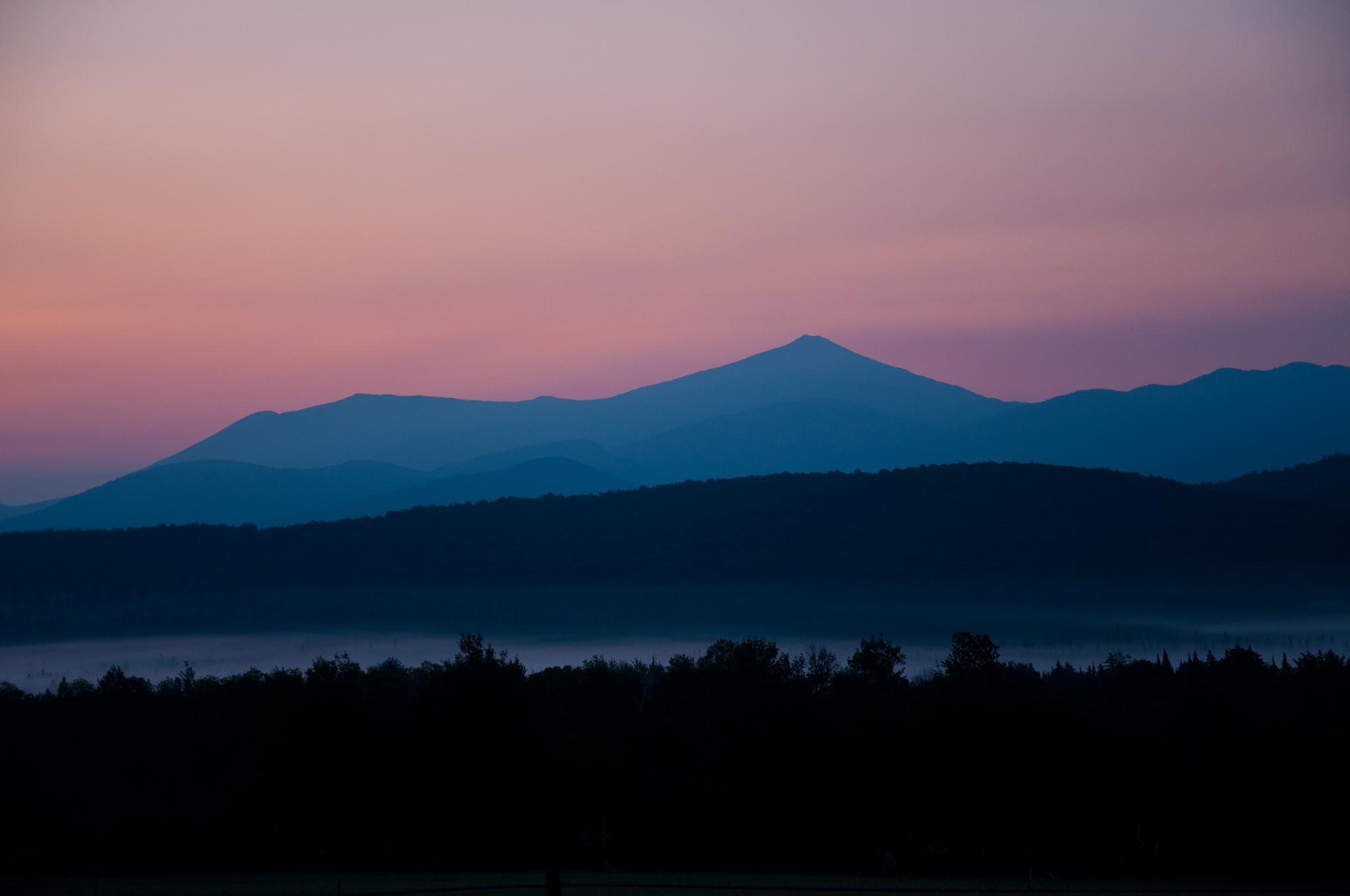 Whiteface at Sunrise by ADKPhotoTaker