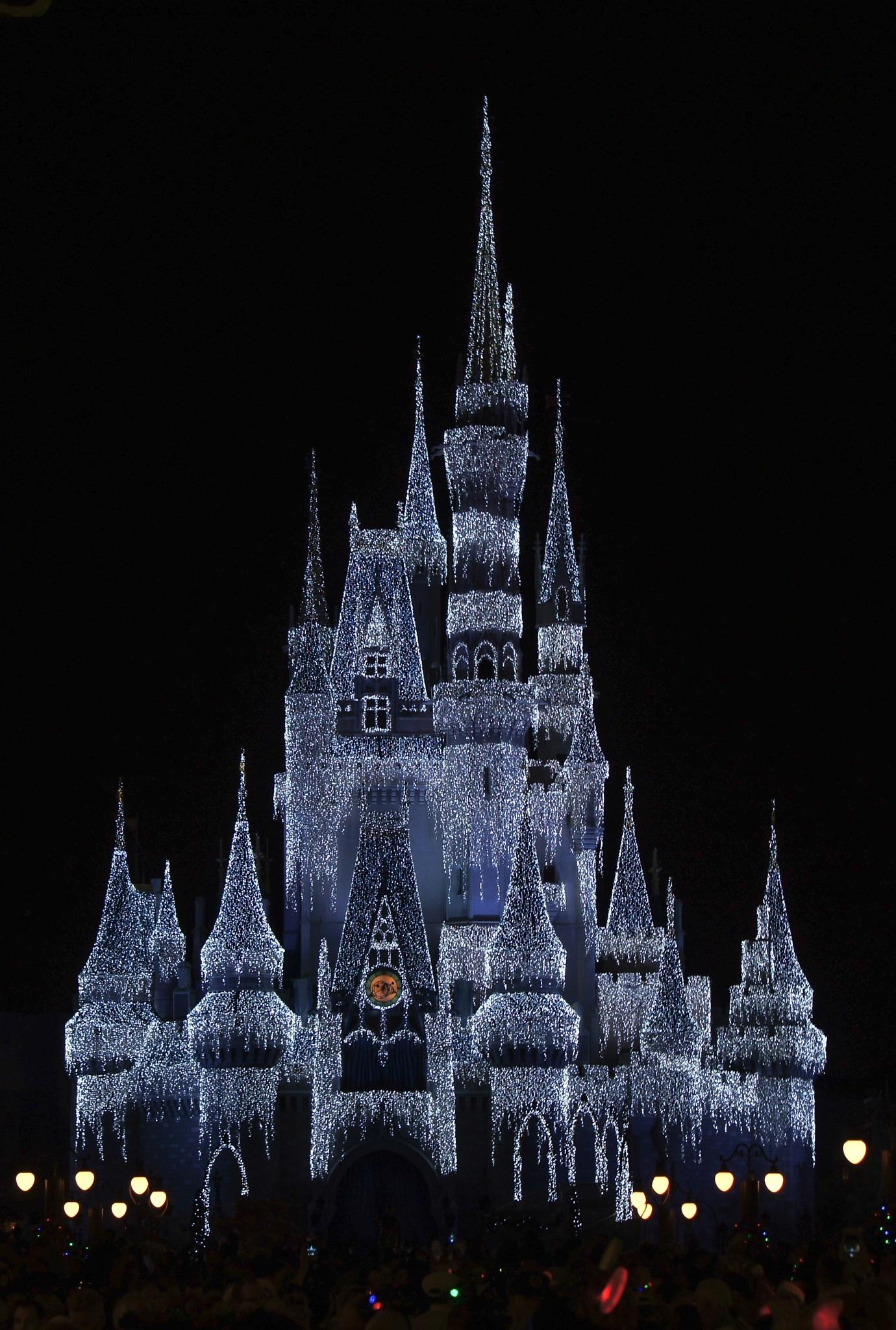 Christmas Castle by John Alava
