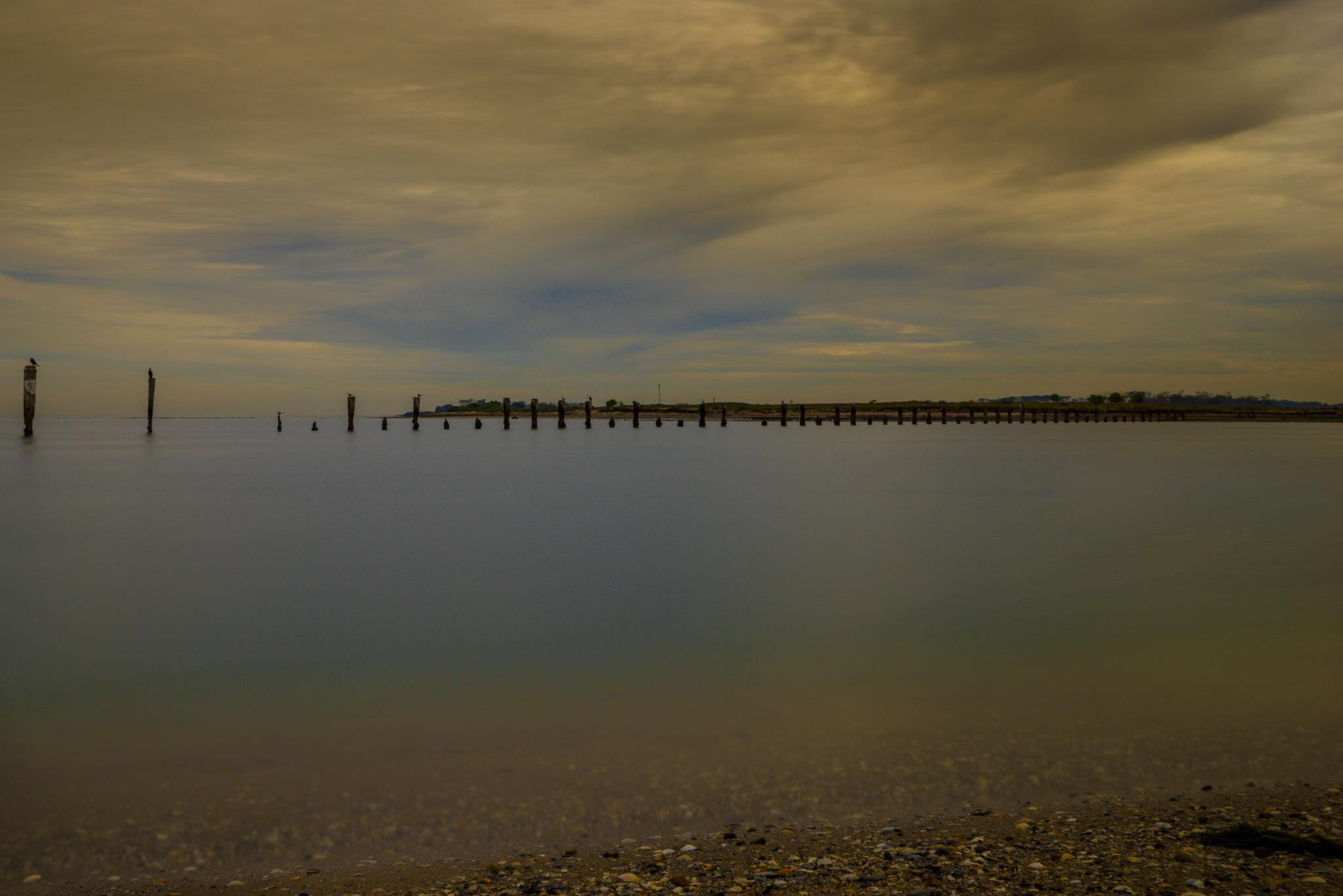 the calm  by karlfergusson