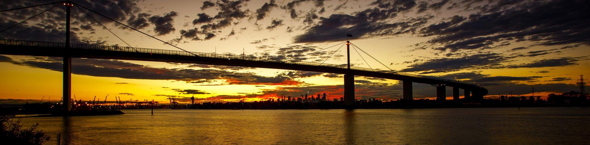 sunrise in melbourne by karlfergusson