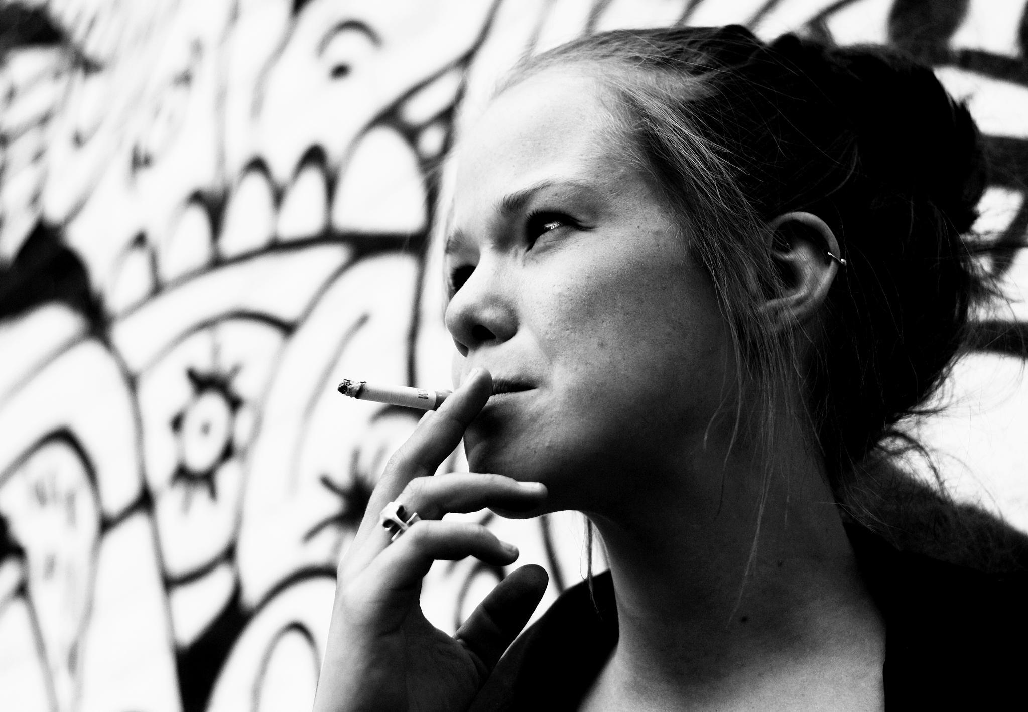 Smoker by Ricardo Ruytenberg
