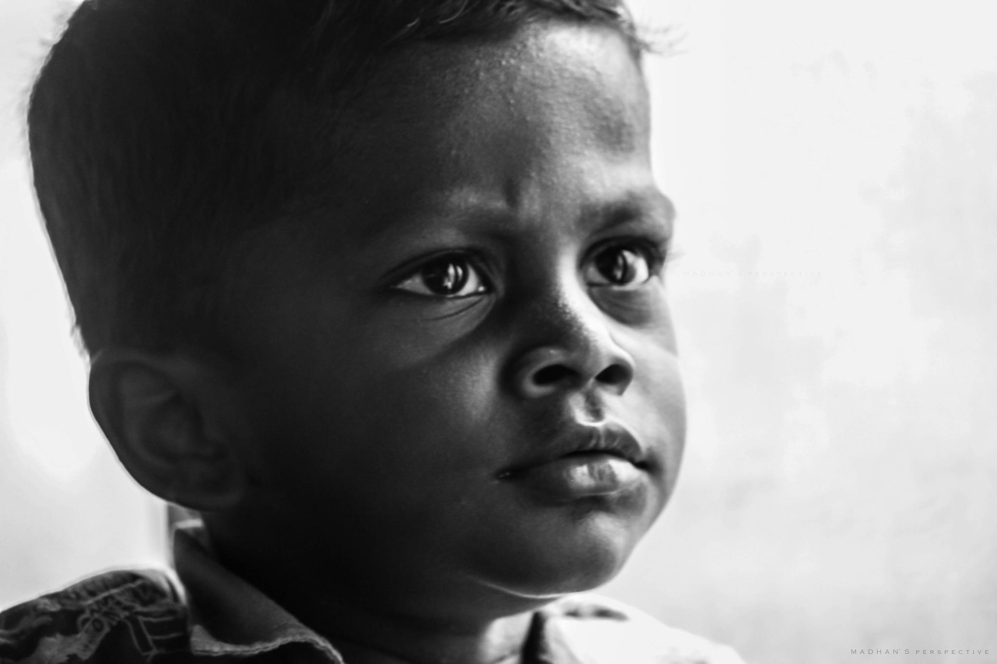 innocent child by BMadhan raj