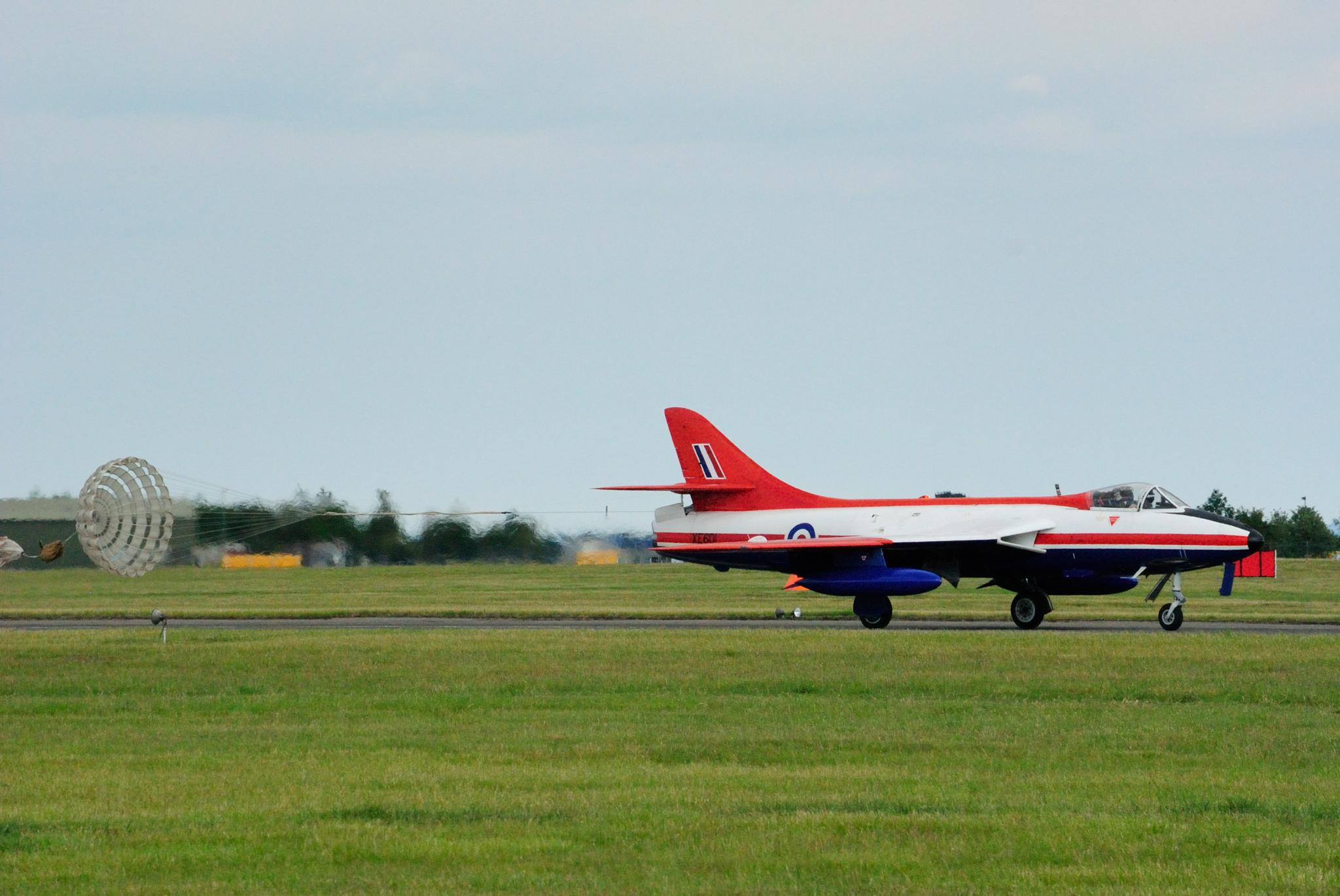 Hawker Hunter by Alex