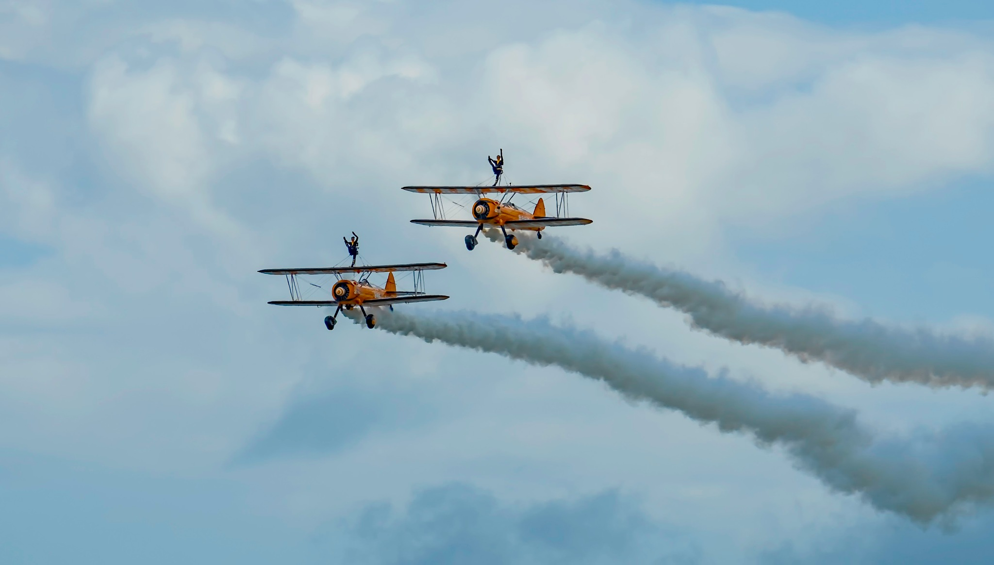 Wing Walkers by Dave