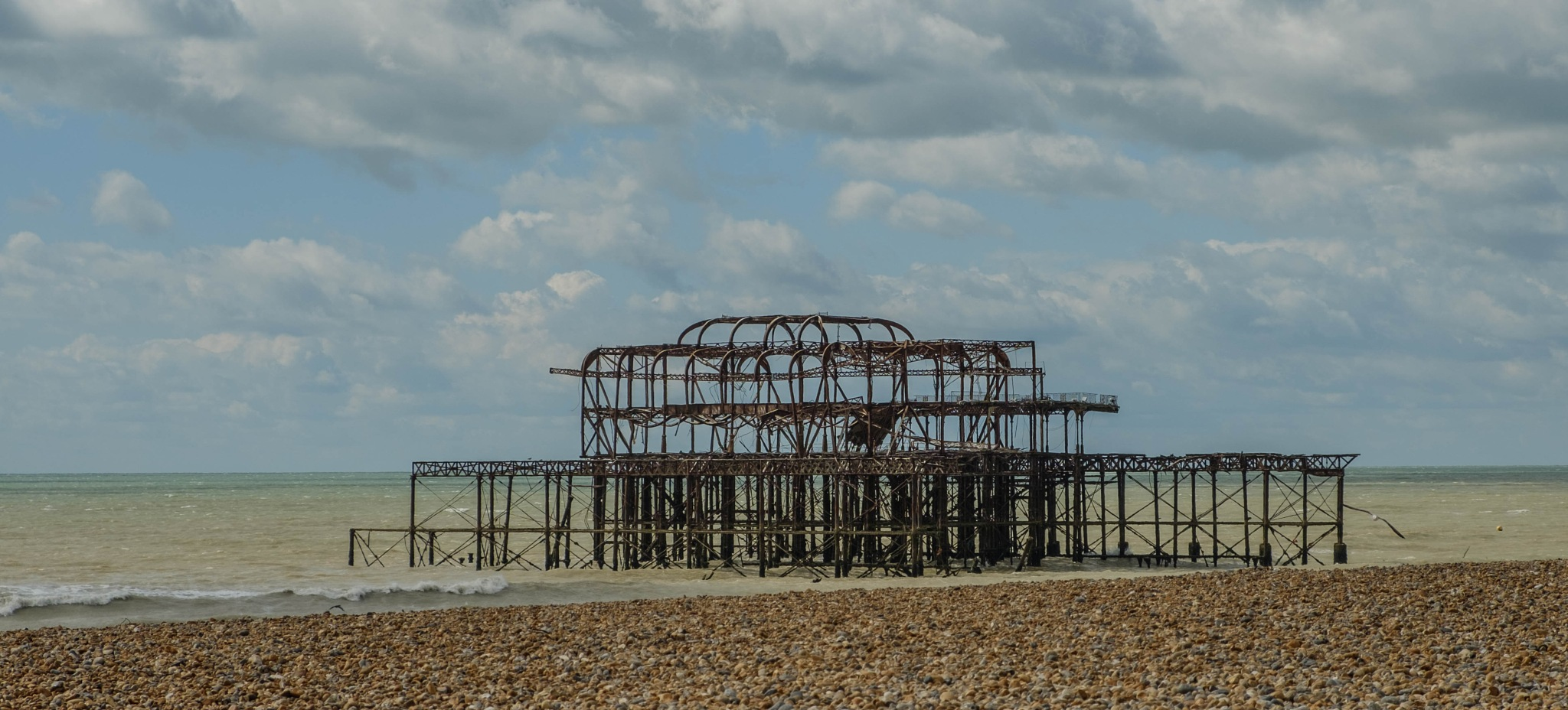 West Pier Ruins by Dave