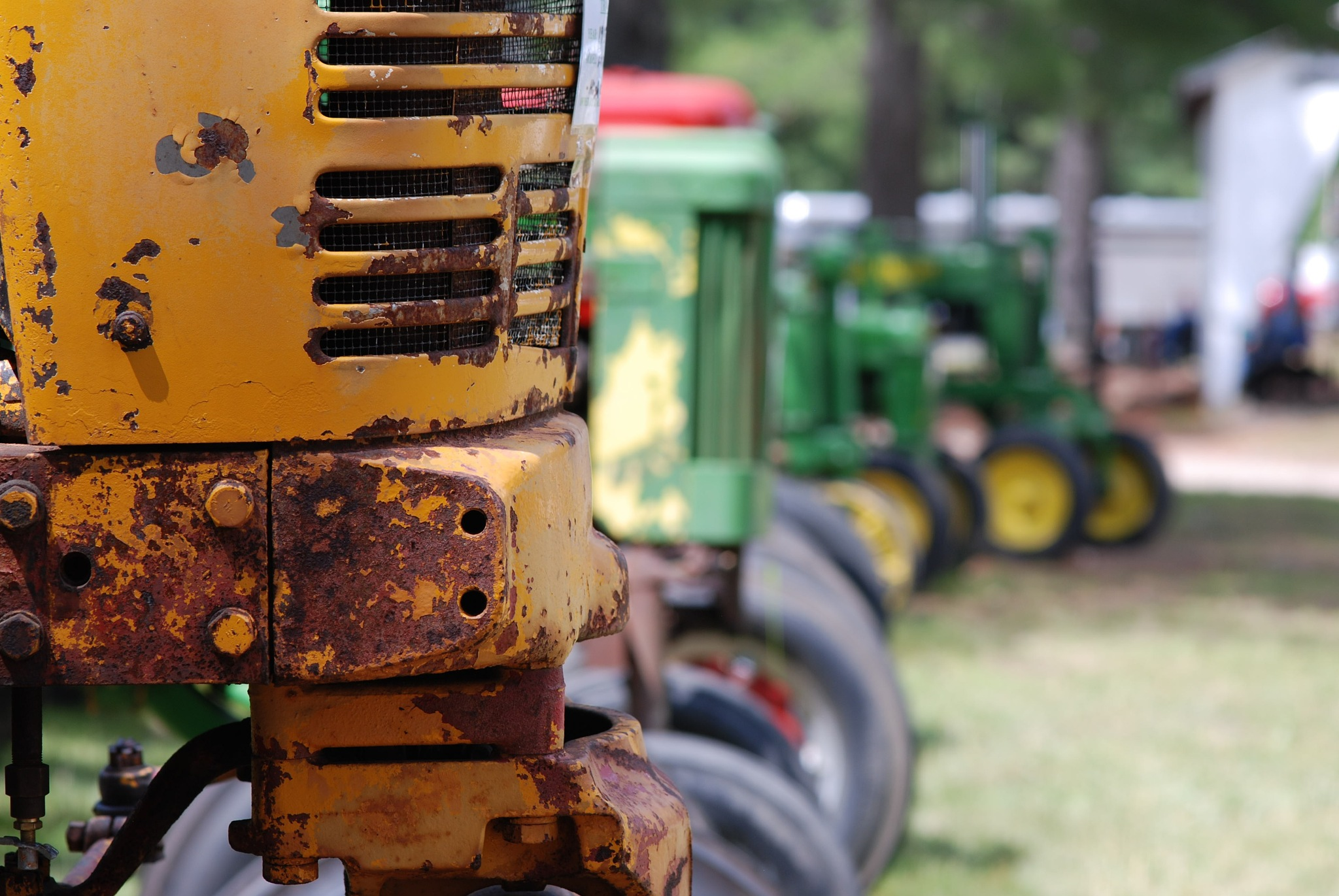 Tractors at the fair by dan_tirrell