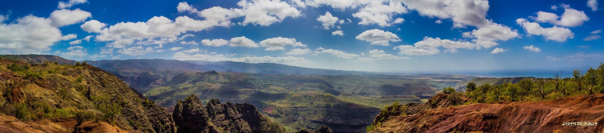 Canyon Panoramic by Richard Taken