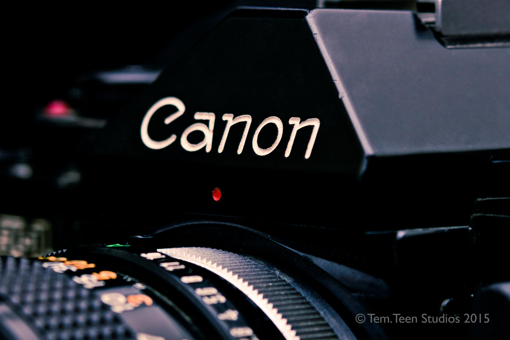 My Canon A1 by George Elias