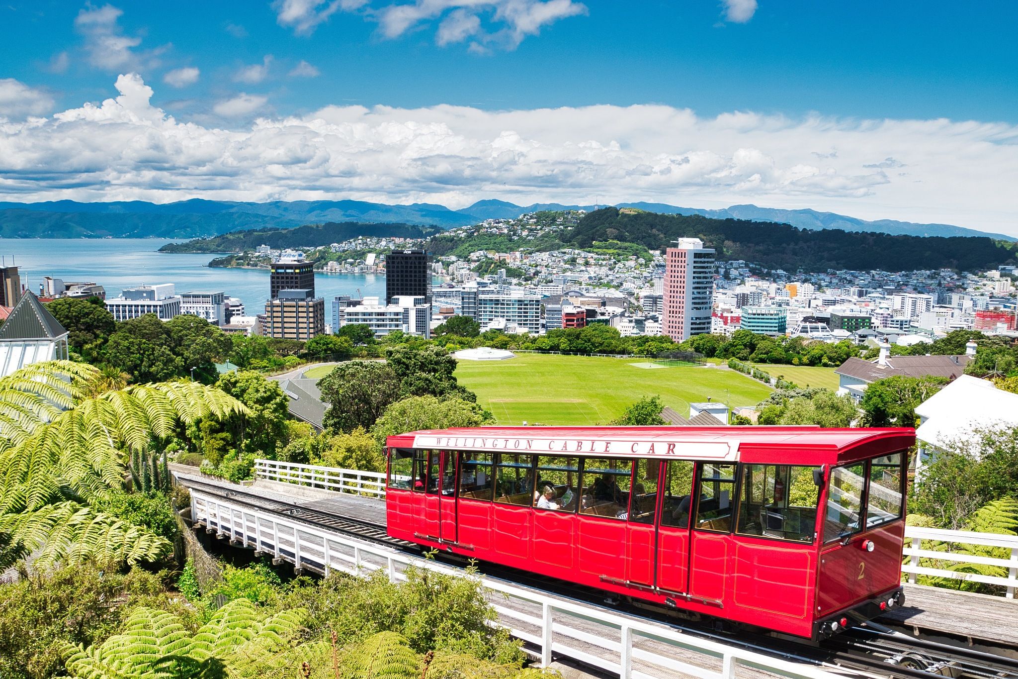 Cable Car Wellington by Kim McGlinchey
