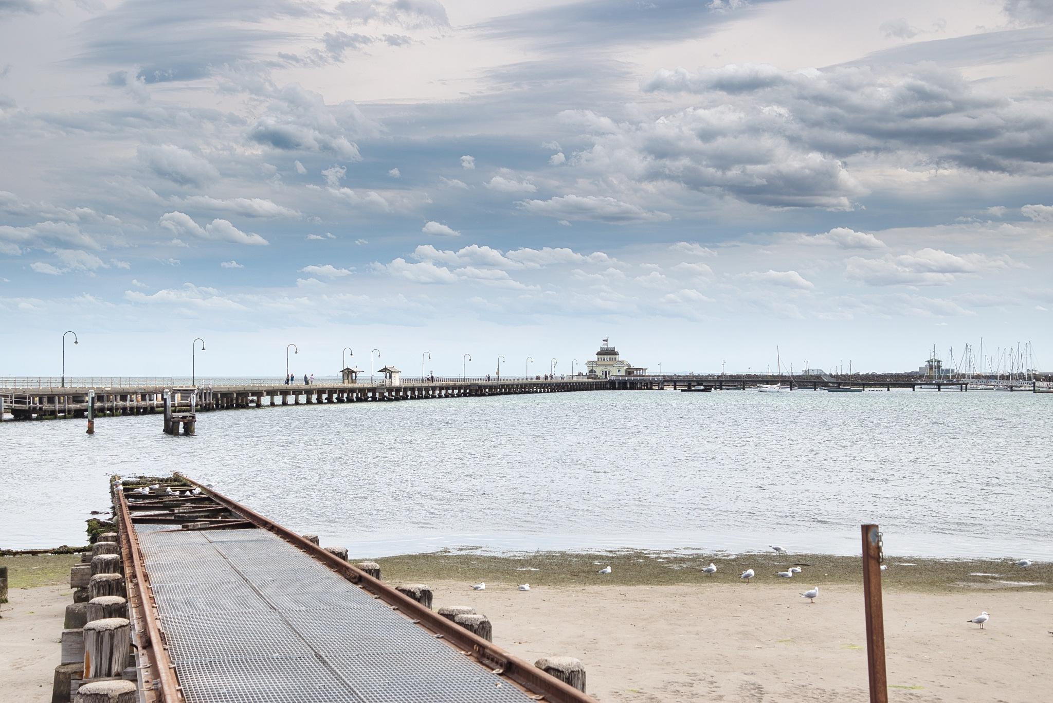St Kilda Pier by Kim McGlinchey