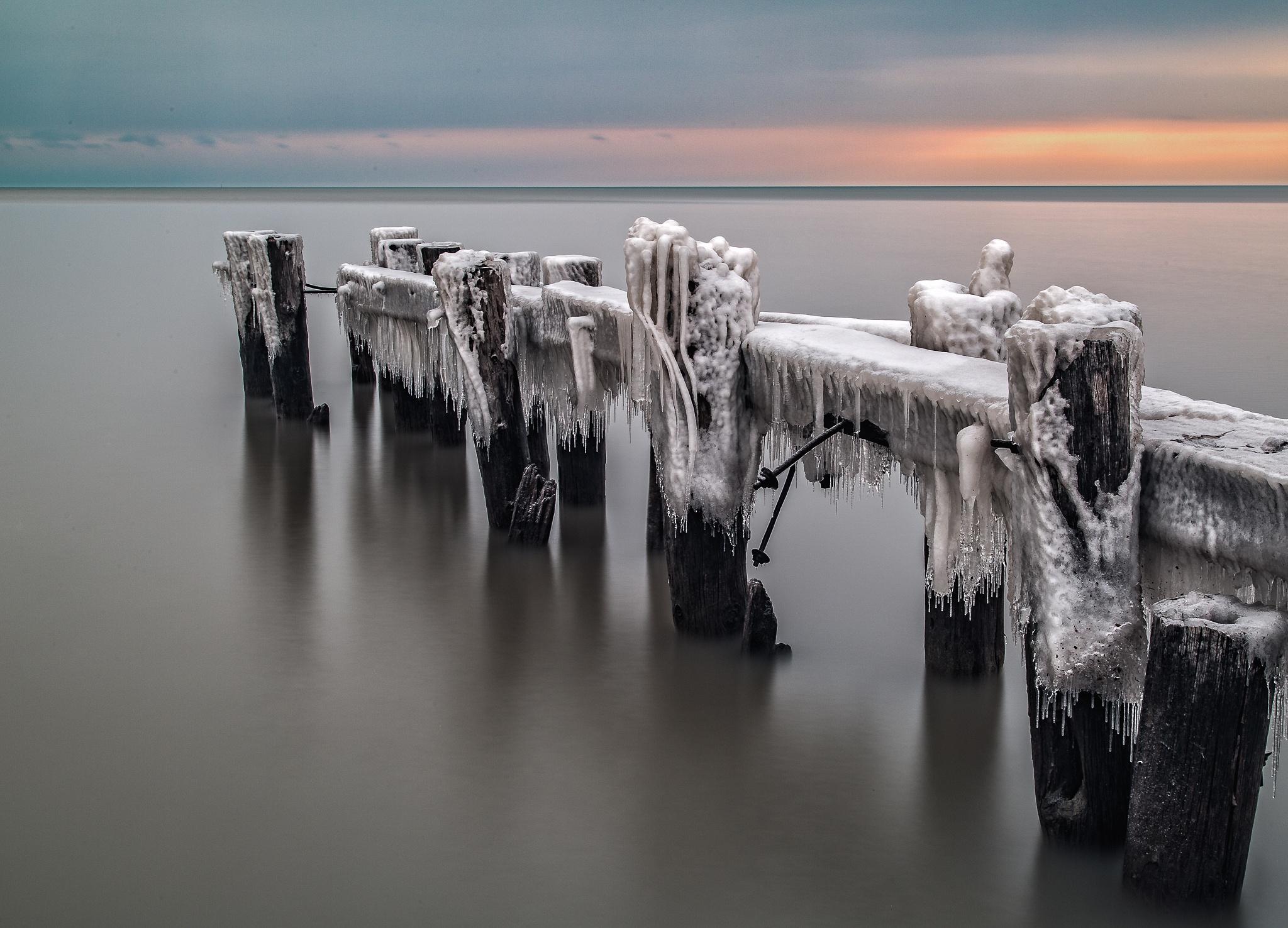 A Muted Sunrise by Paul Berkloo