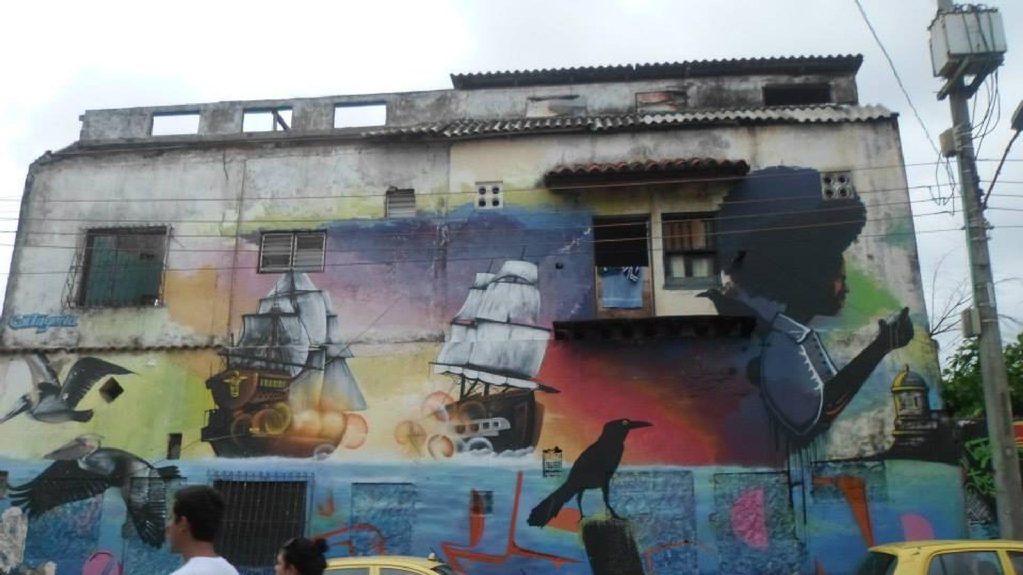 URBAN AND CARTAGENERO STREET ART by castariza