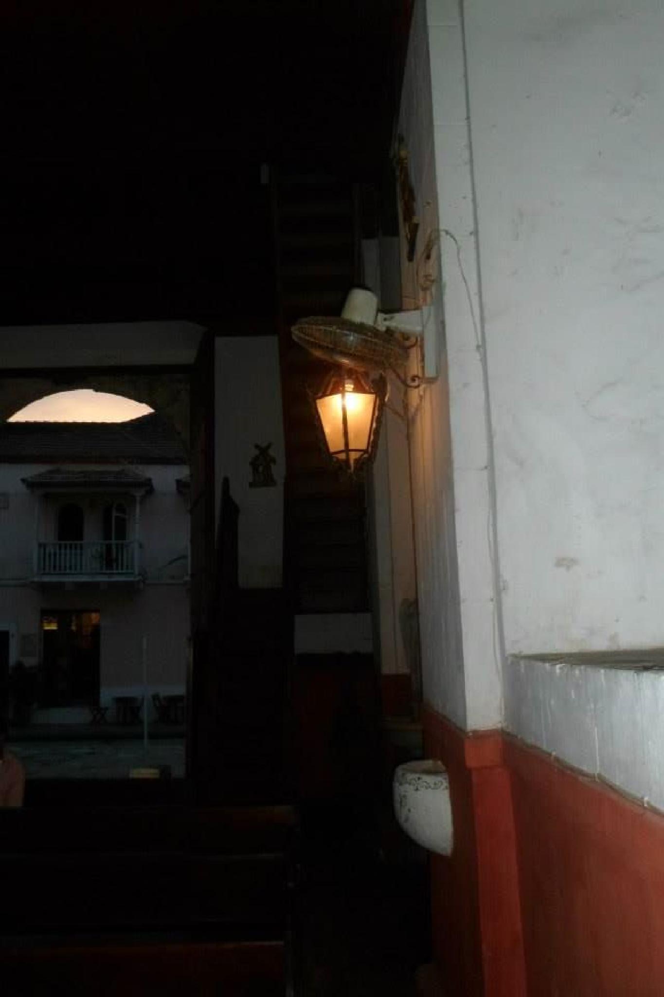 the wanderful lamp inside a church by castariza