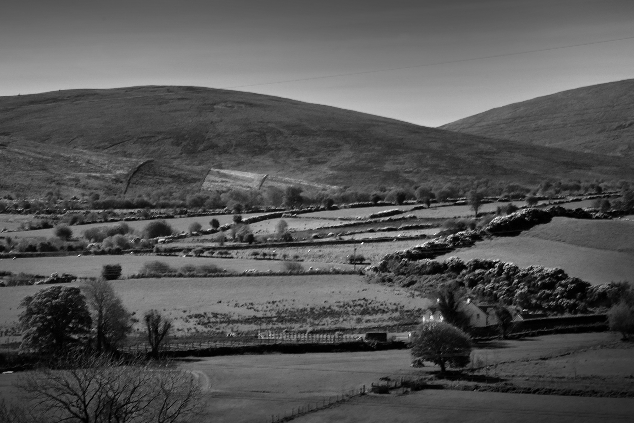 Sperrins from Feeny Village by Kenny Francis