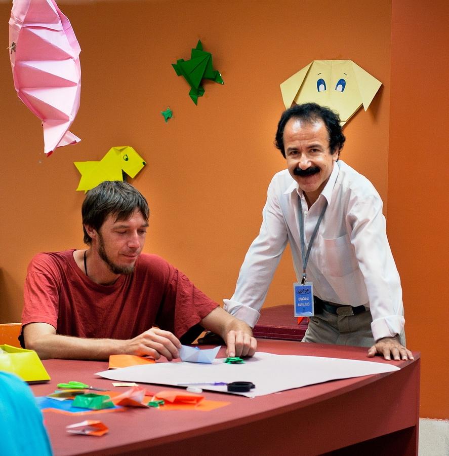 Origami learning آموزش اوریگامی در مشهد by Mohsen Moossavi