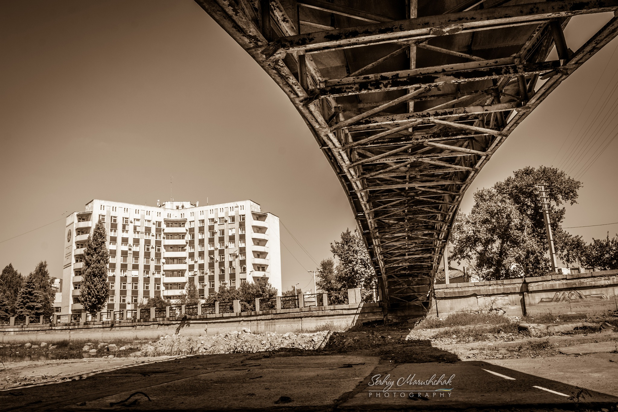 Міст з такого ракурсу... / The bridge from this aspect... by artmars07