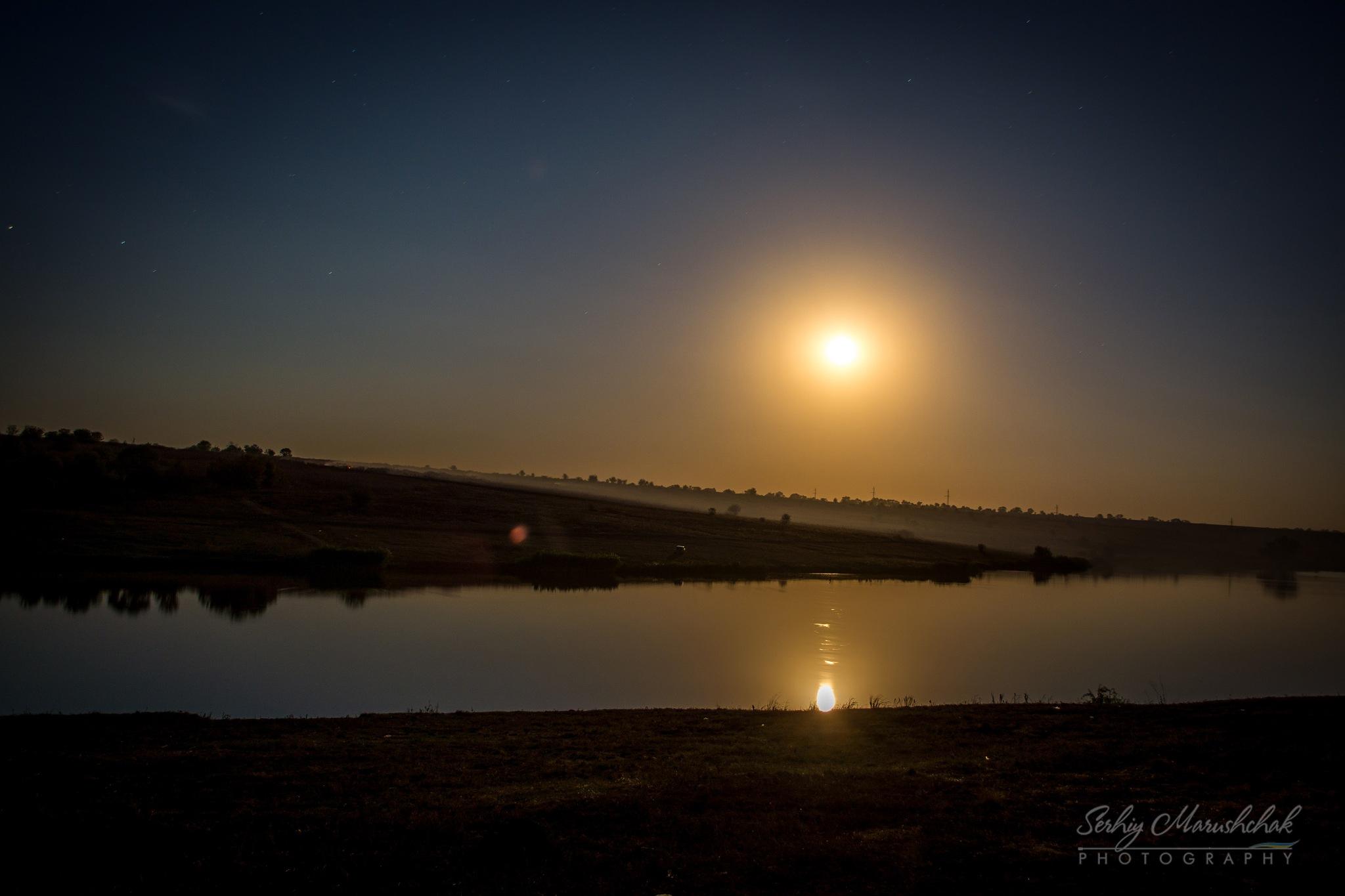 Нічний краєвид... / Night landscape... by artmars07