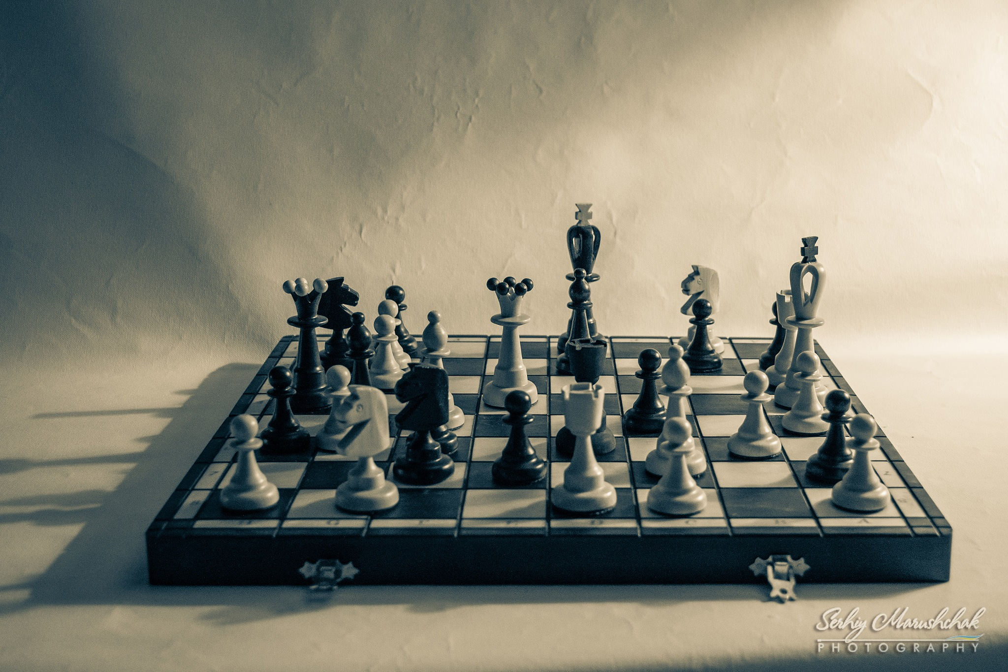 Шахова комбінація... / Chess combination... by artmars07