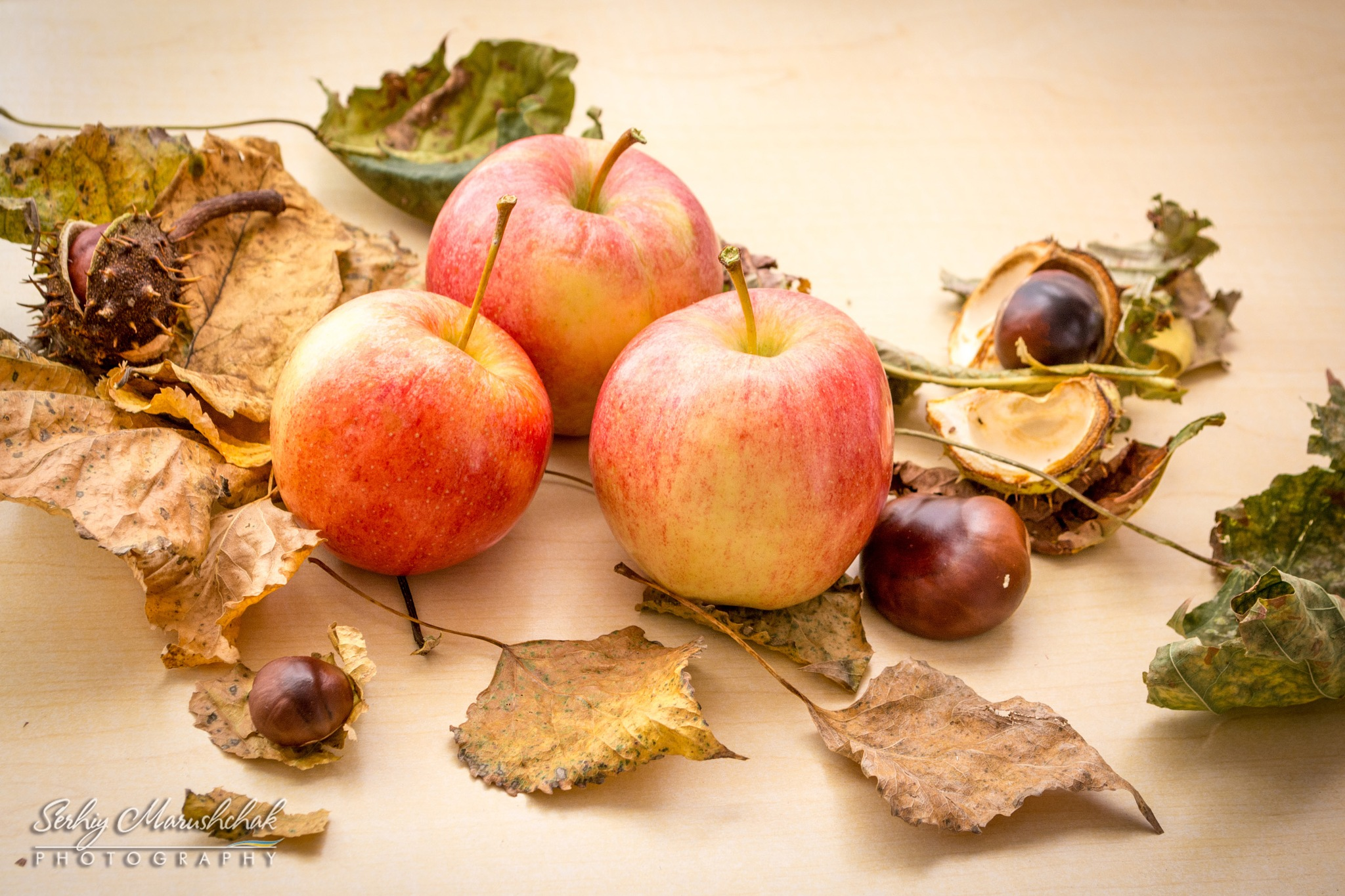 Осінні яблука... / Autumn apples... by artmars07
