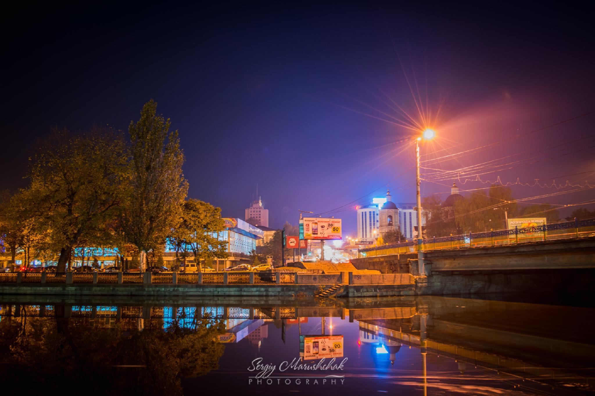 Вечірній краєвид / Evening landscape by artmars07