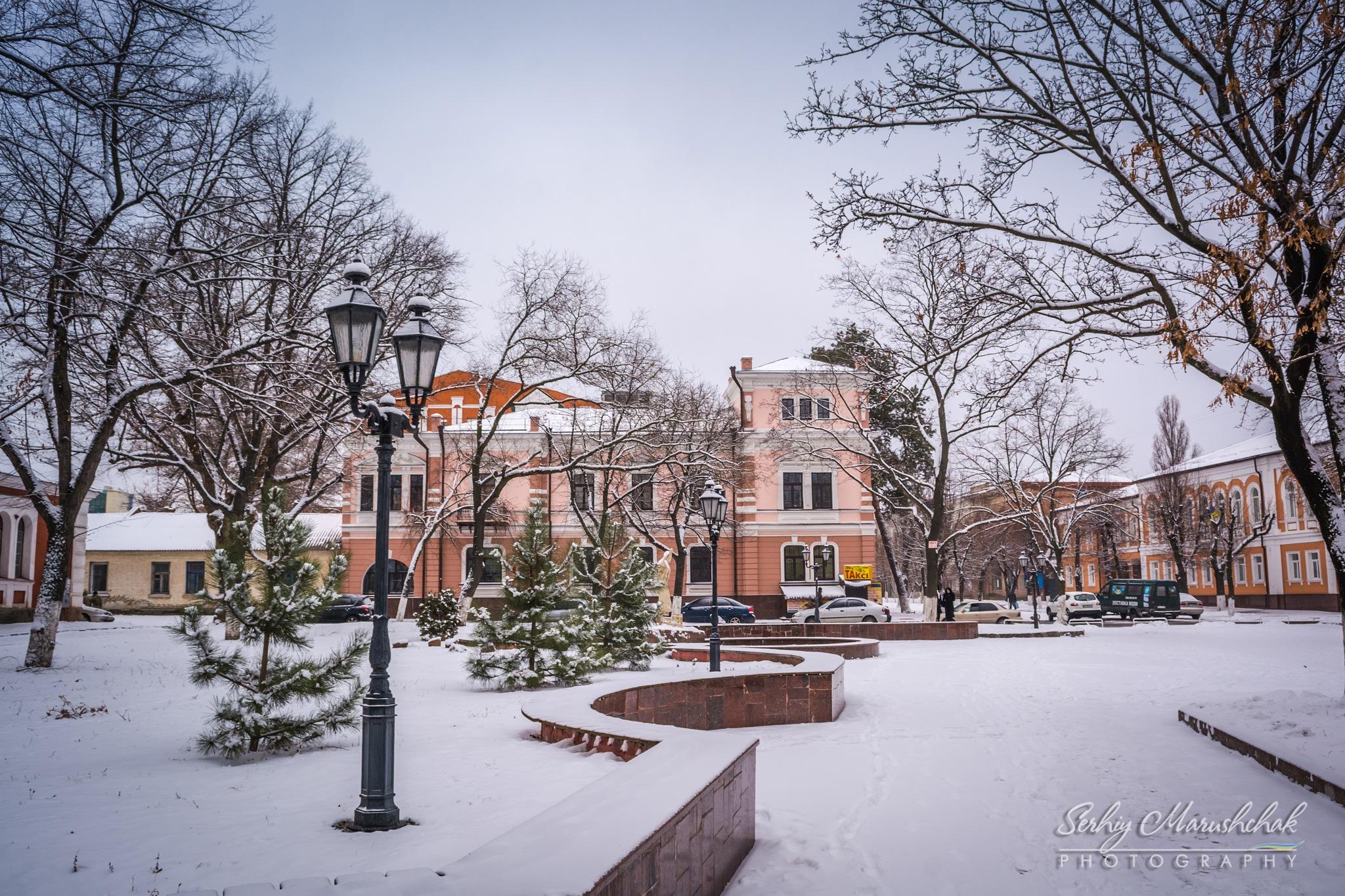 Зимове місто... / Winter City... by artmars07