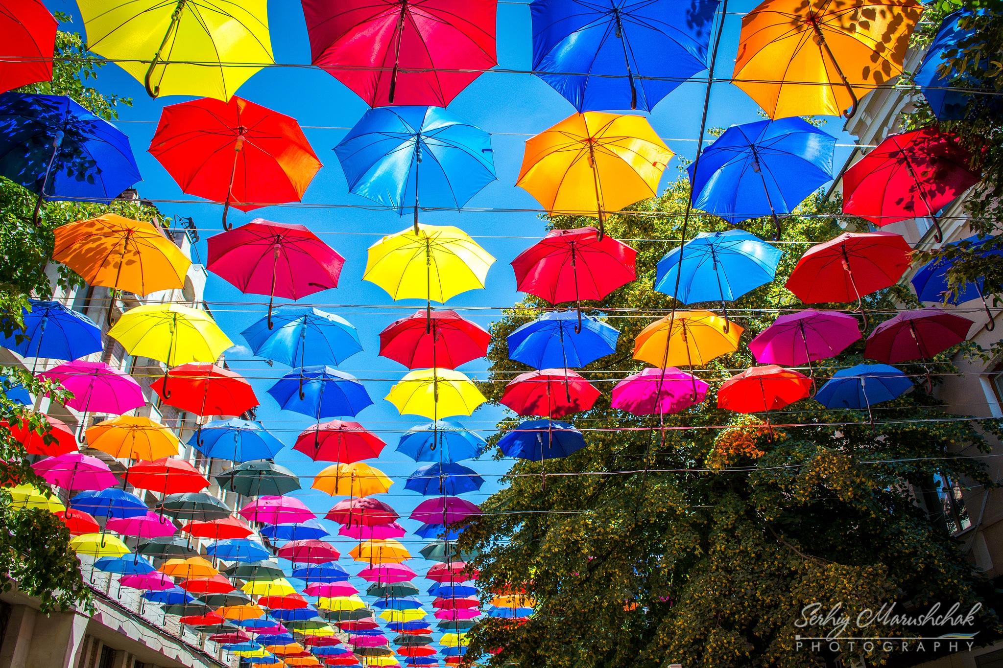 Яскраві парасольки... / Bright umbrellas... by artmars07