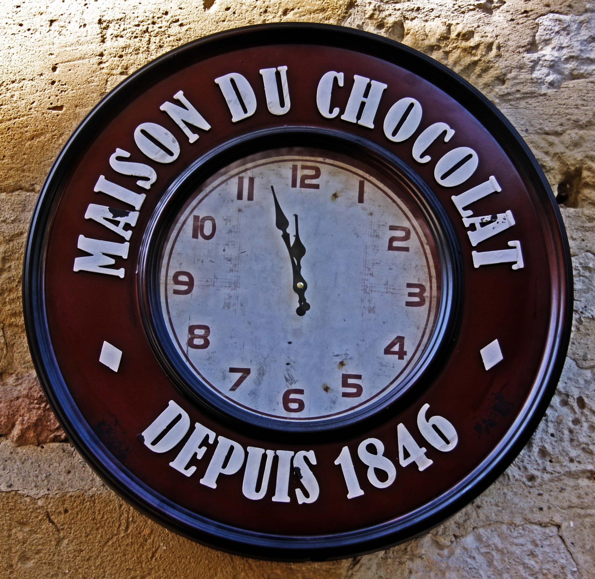 Chocolate clock by mamstudio