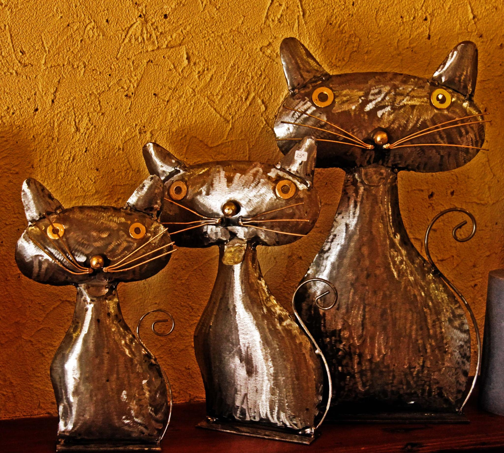 Decorative cats by mamstudio