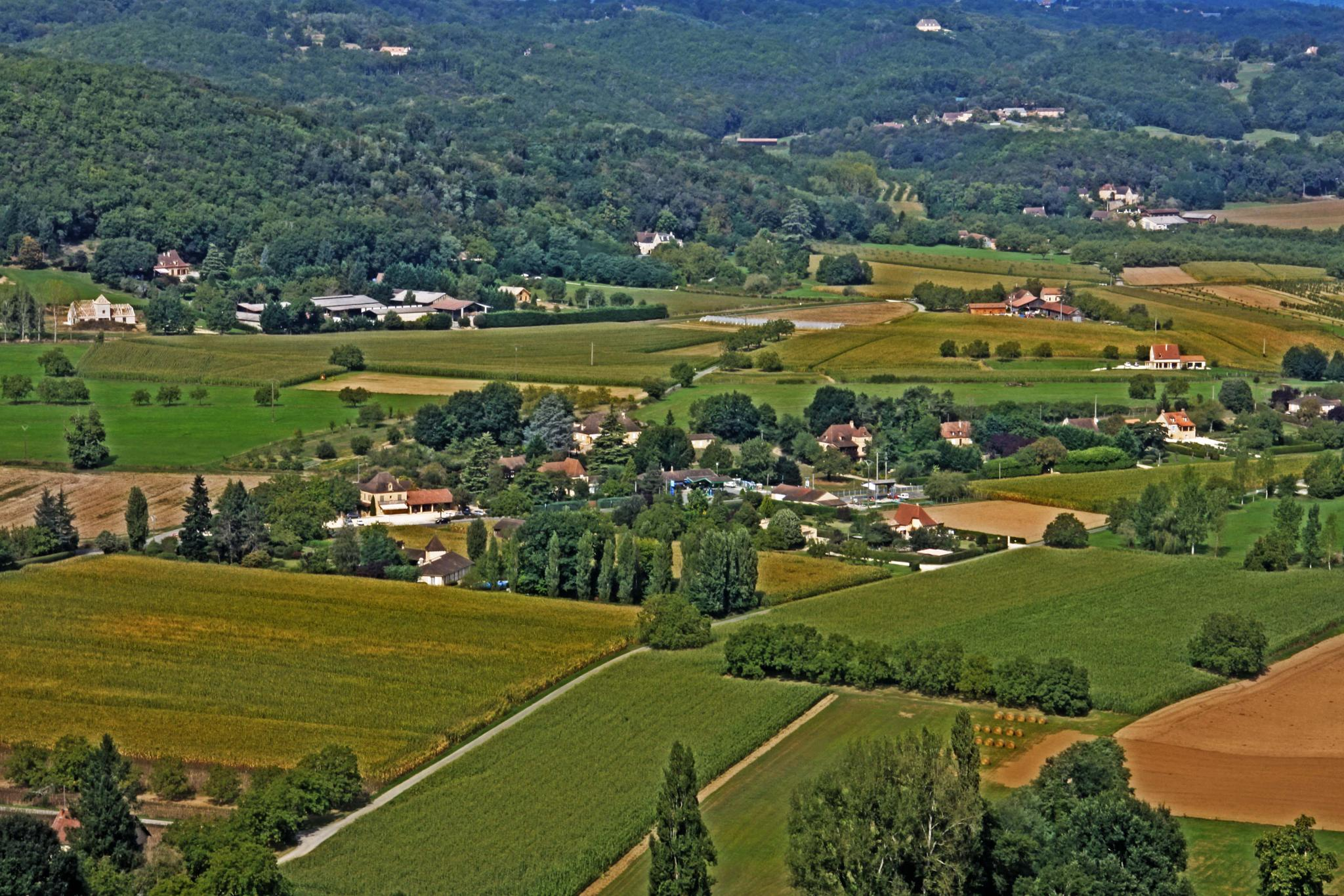 Dordogne landscape by mamstudio