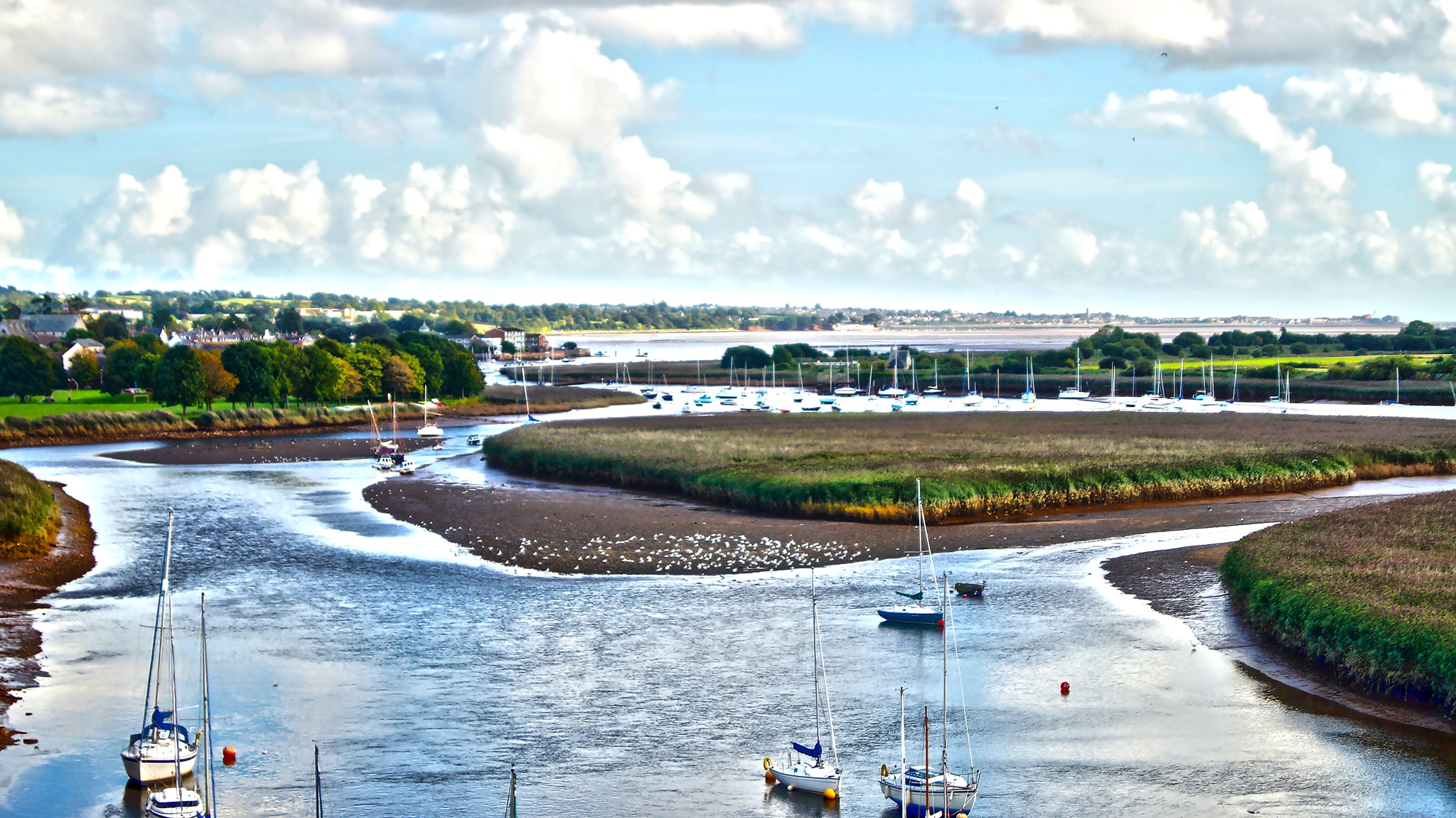 river exe by fifty3photography