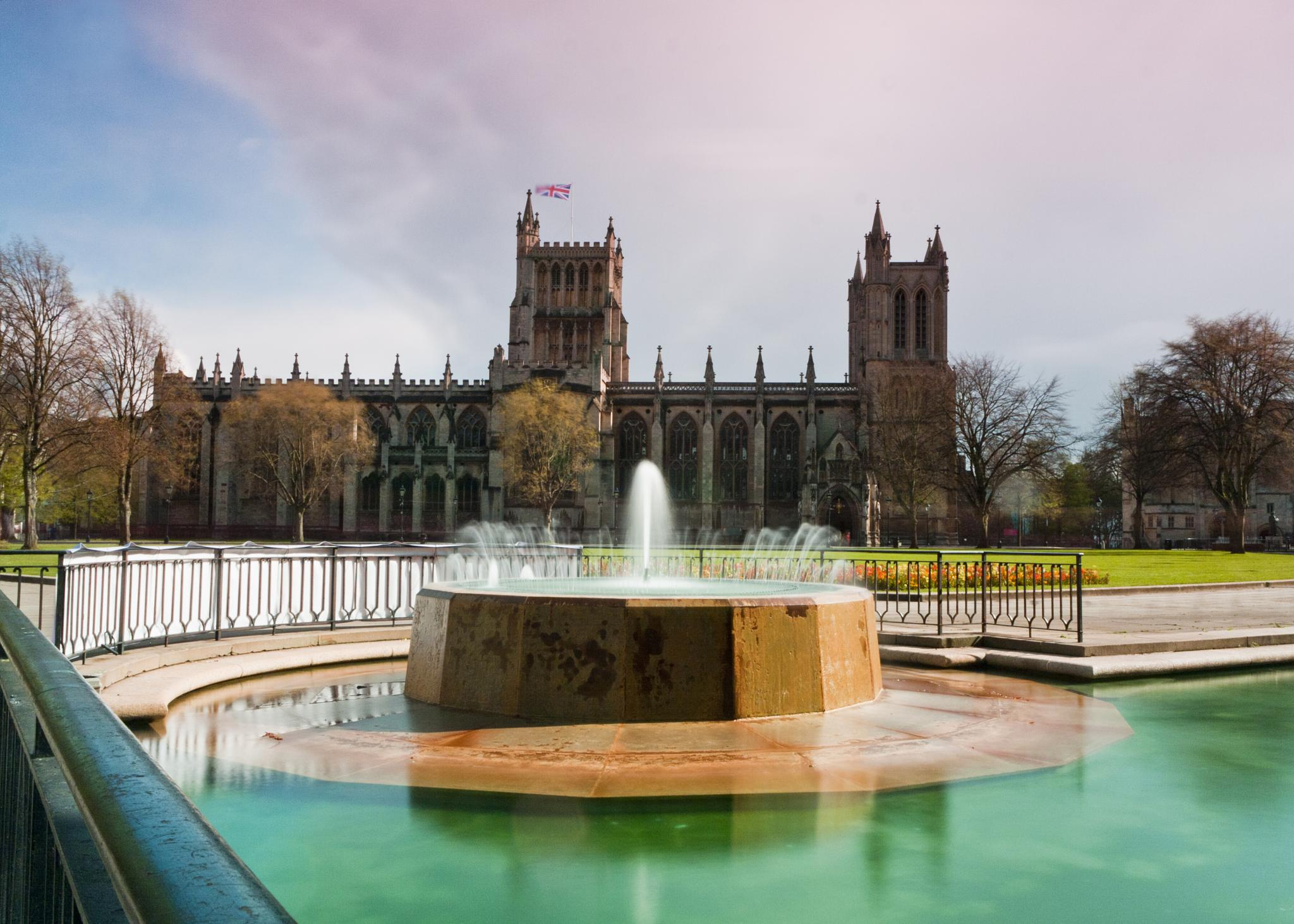 Bristol Cathedral by Mark Rowe