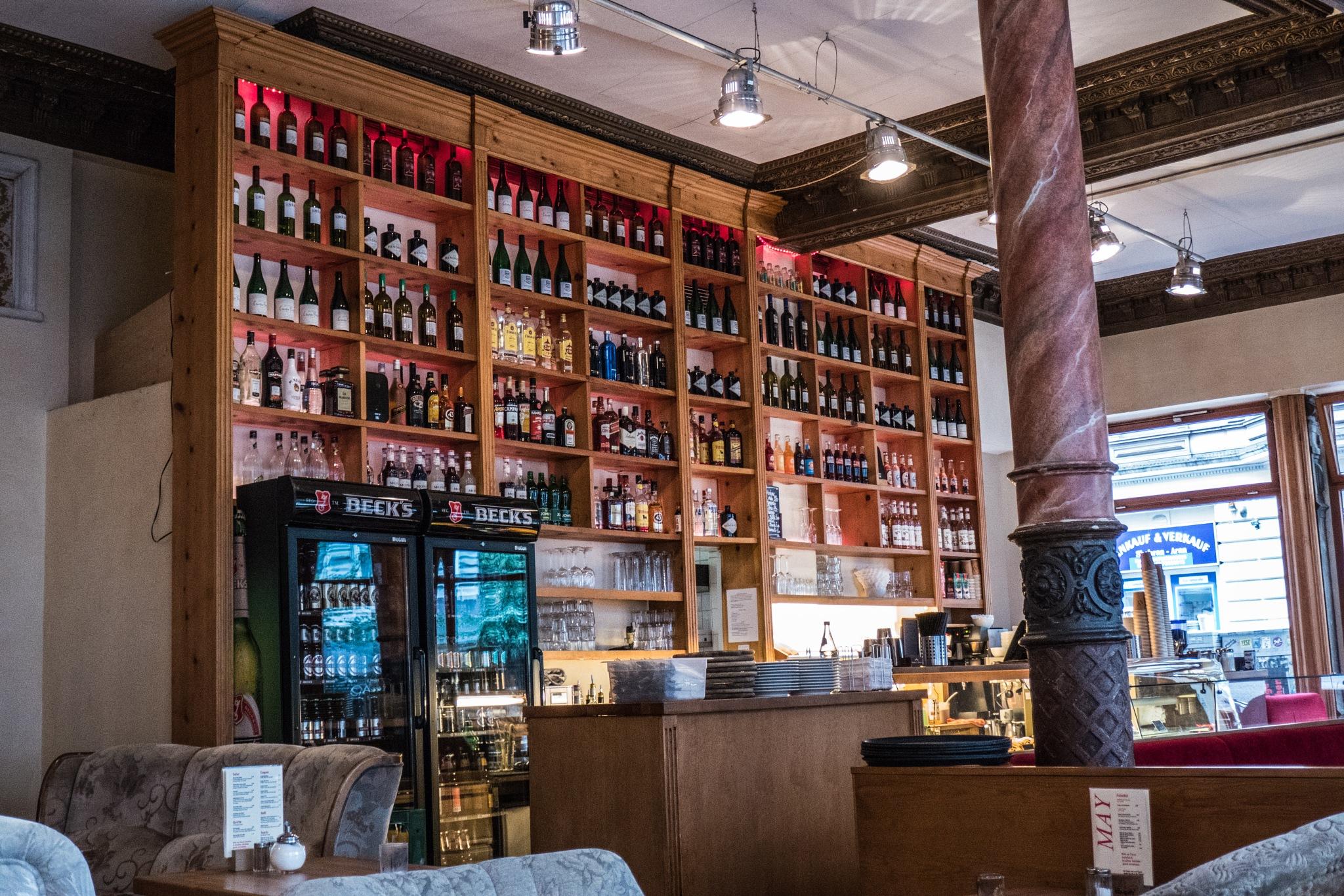 Restaurant Interieur by Hansjuerg Buehler