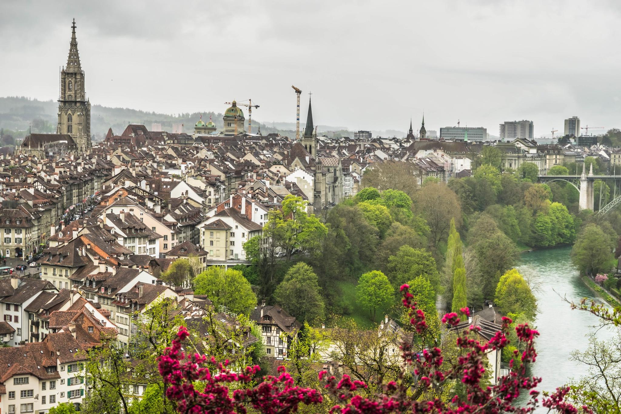 Bern by Hansjuerg Buehler