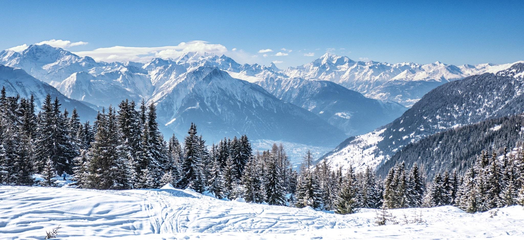 Bergpanorama Bettmeralp by Hansjuerg Buehler