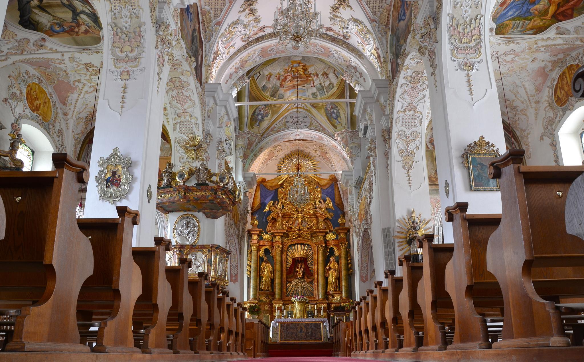 The collegial church of Ossiach by echumachenco