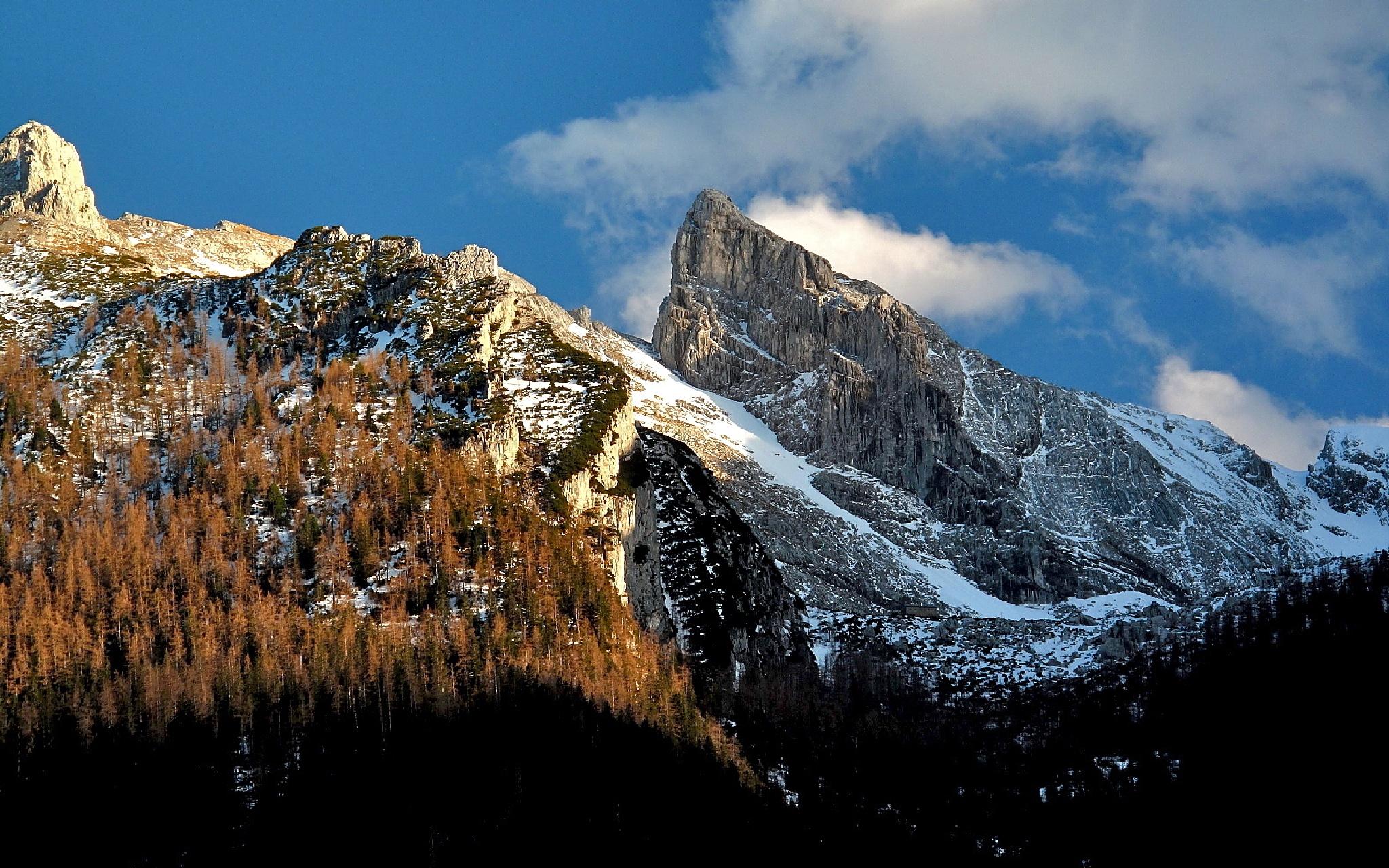 Schärtenspitze, Berchtesgaden Alps by echumachenco