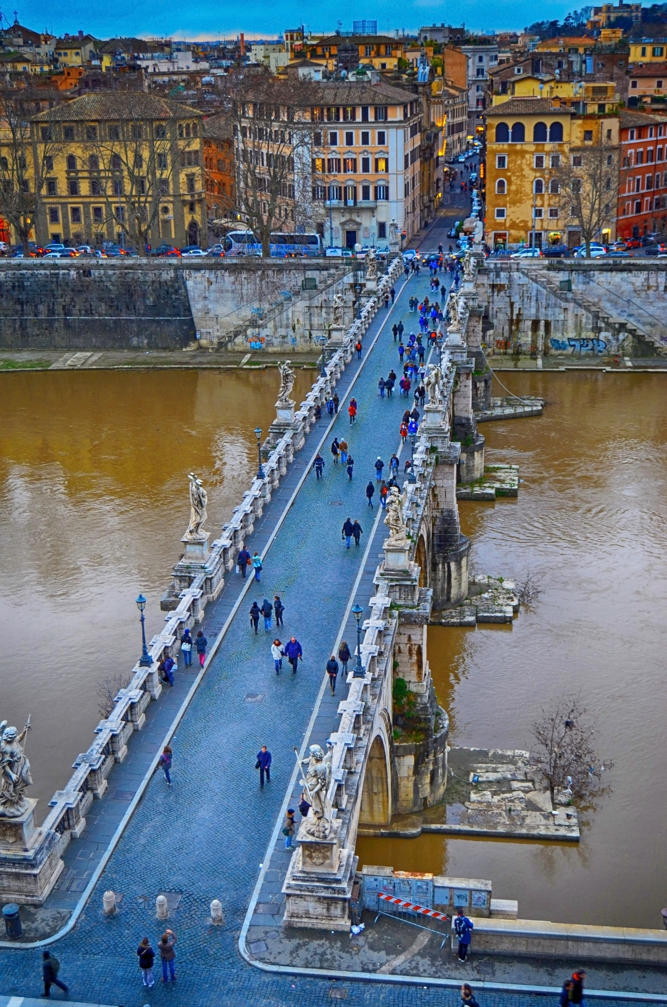 St. Angelo Bridge  by Julija M.