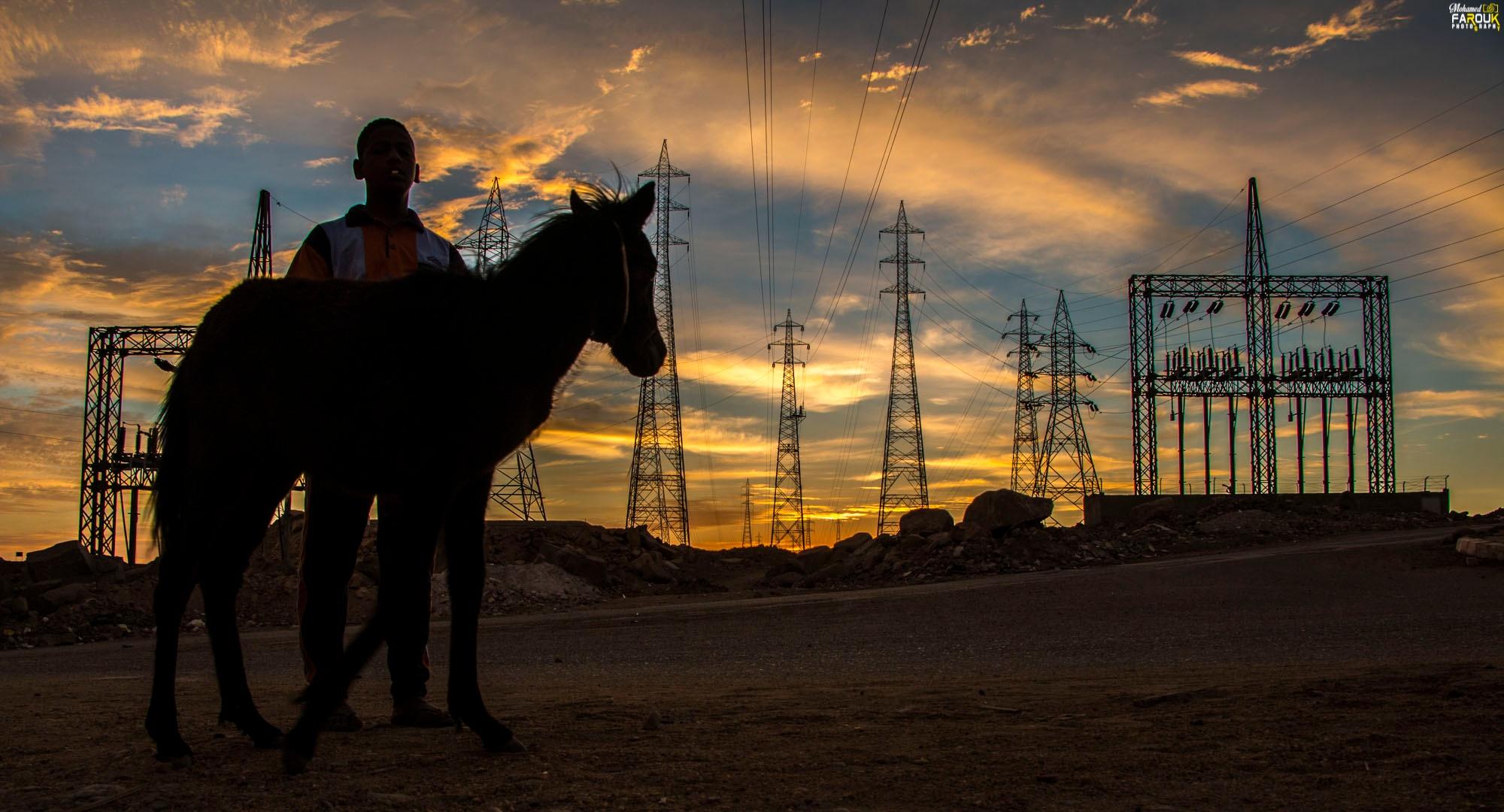 Sunset -aswan - Egypt by mohamedfarouk54738