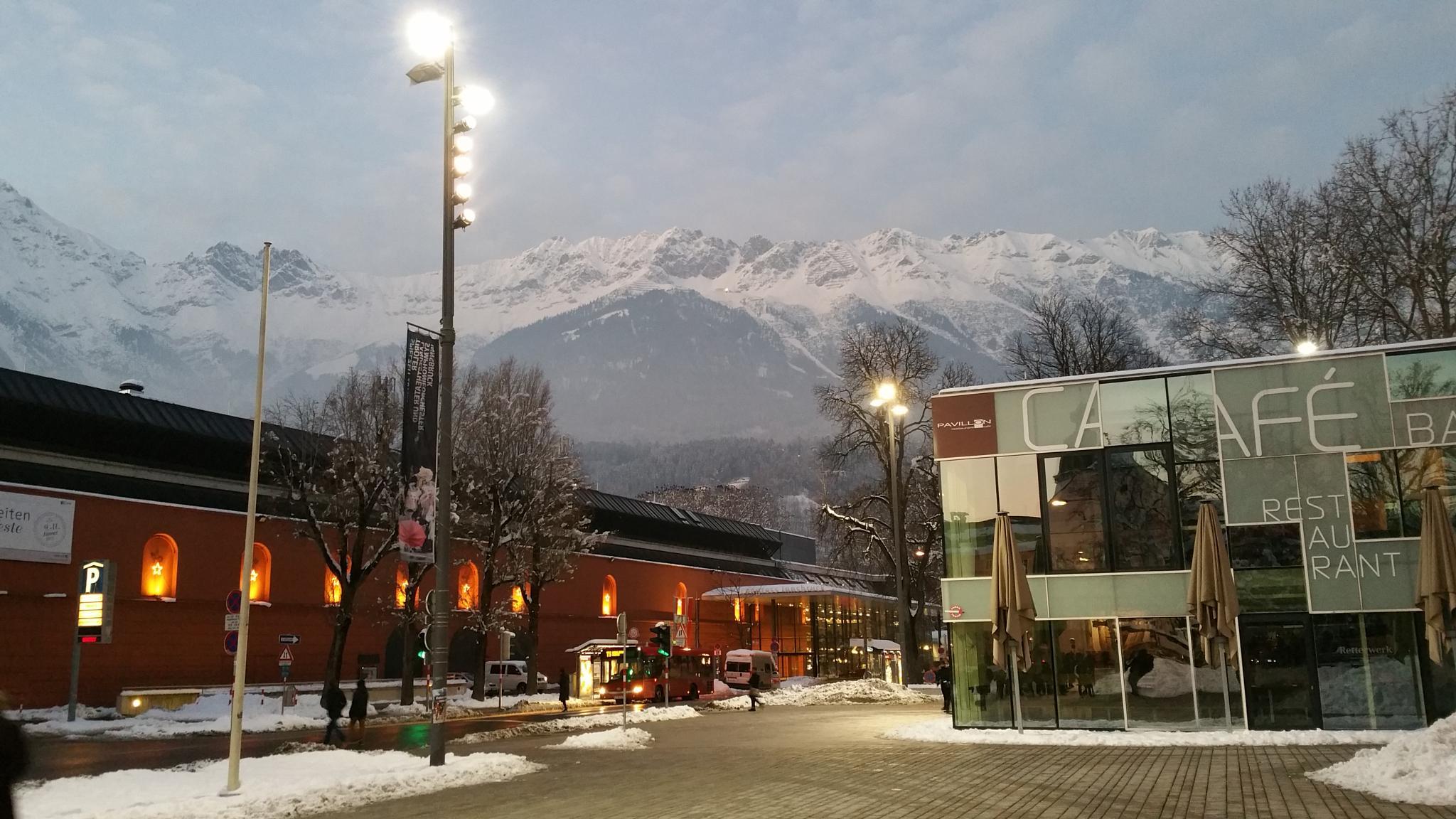 Winter in Innsbruck  by maatapiu