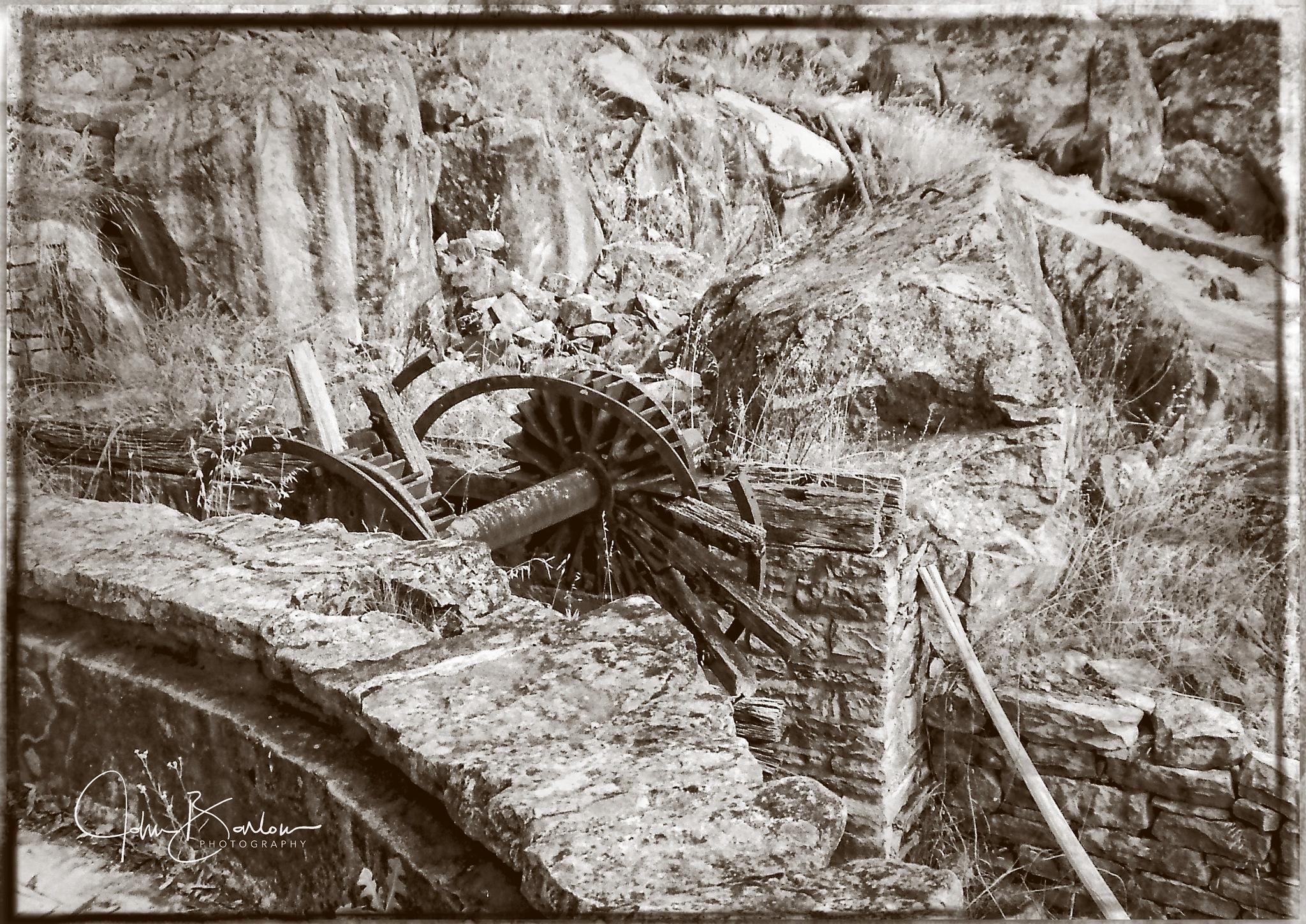 Abandoned Dreams - Adelong Gold Mill 01 by John Barlow