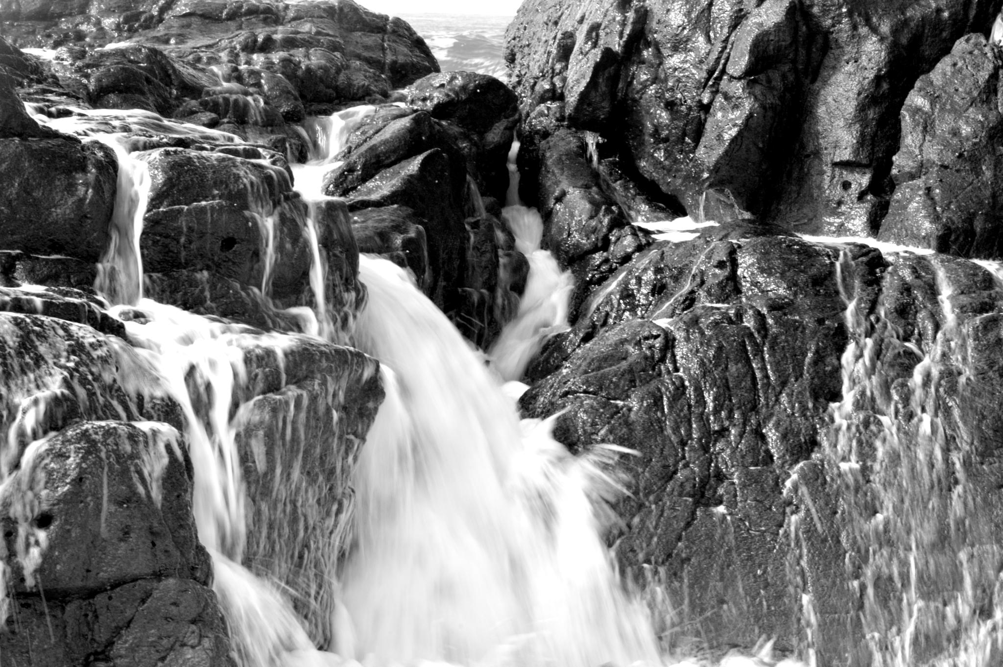 Rocks & water 1 by Ives Martinez